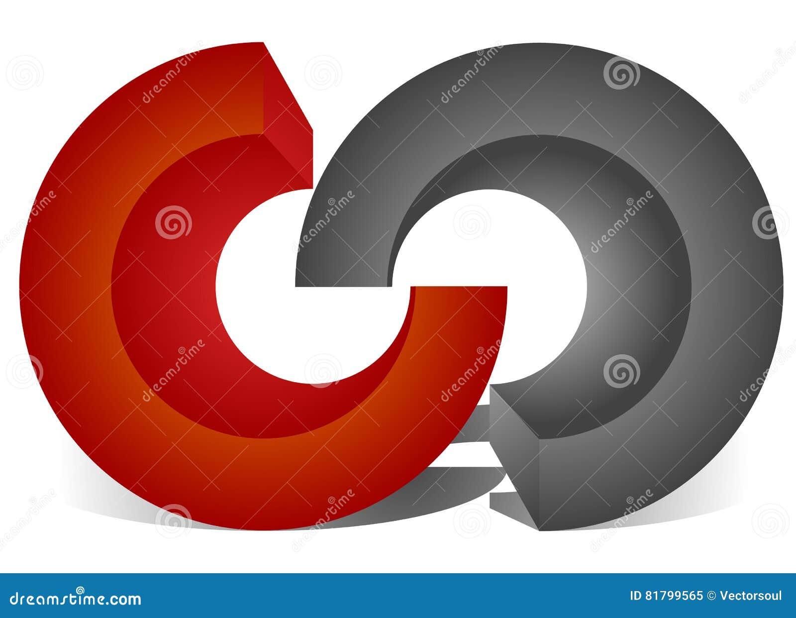 Блокировать круги, блокируя звенит как абстрактное соединение,
