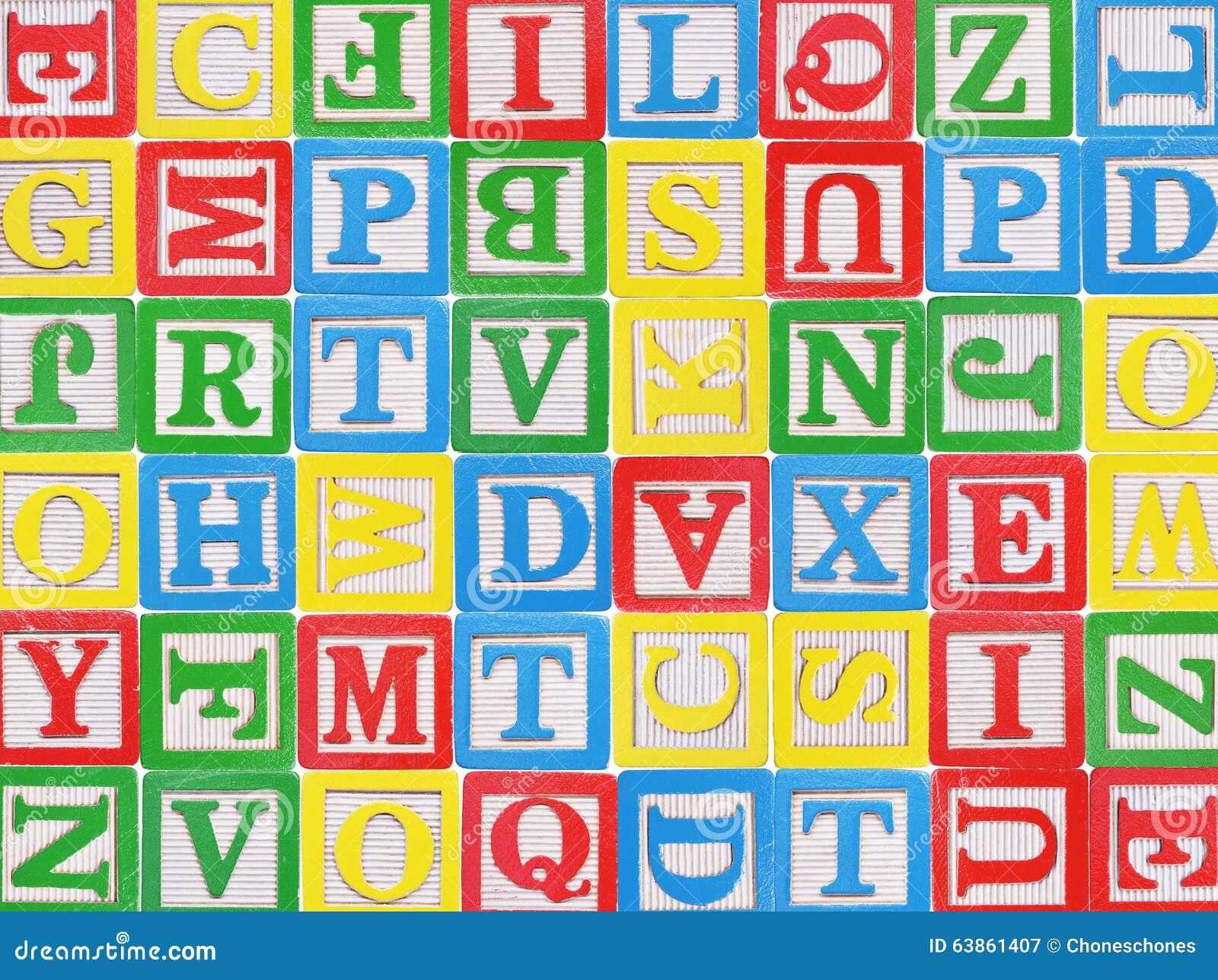 блоки предпосылки алфавита изолировали белизну