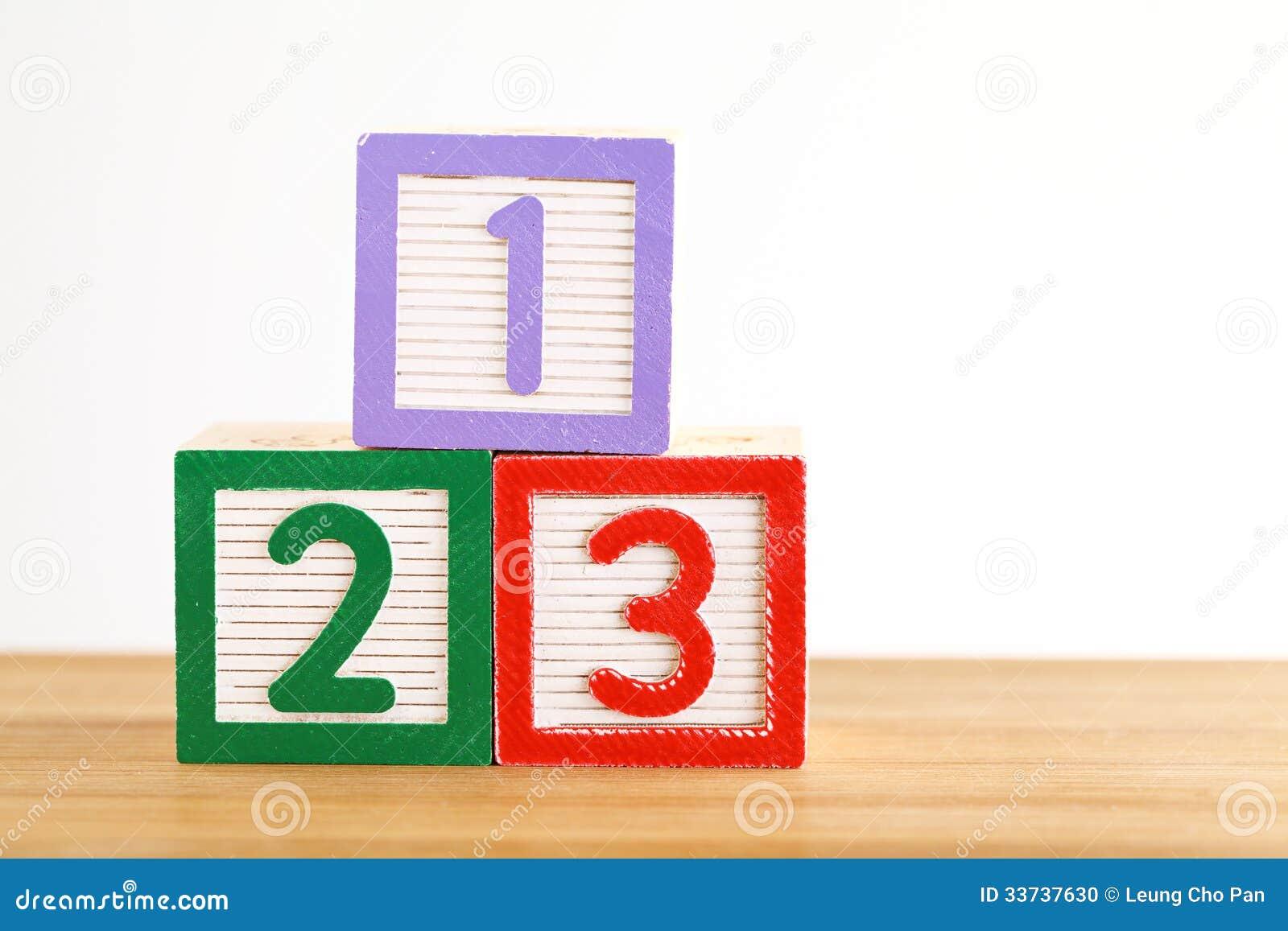 блок 123 игрушек