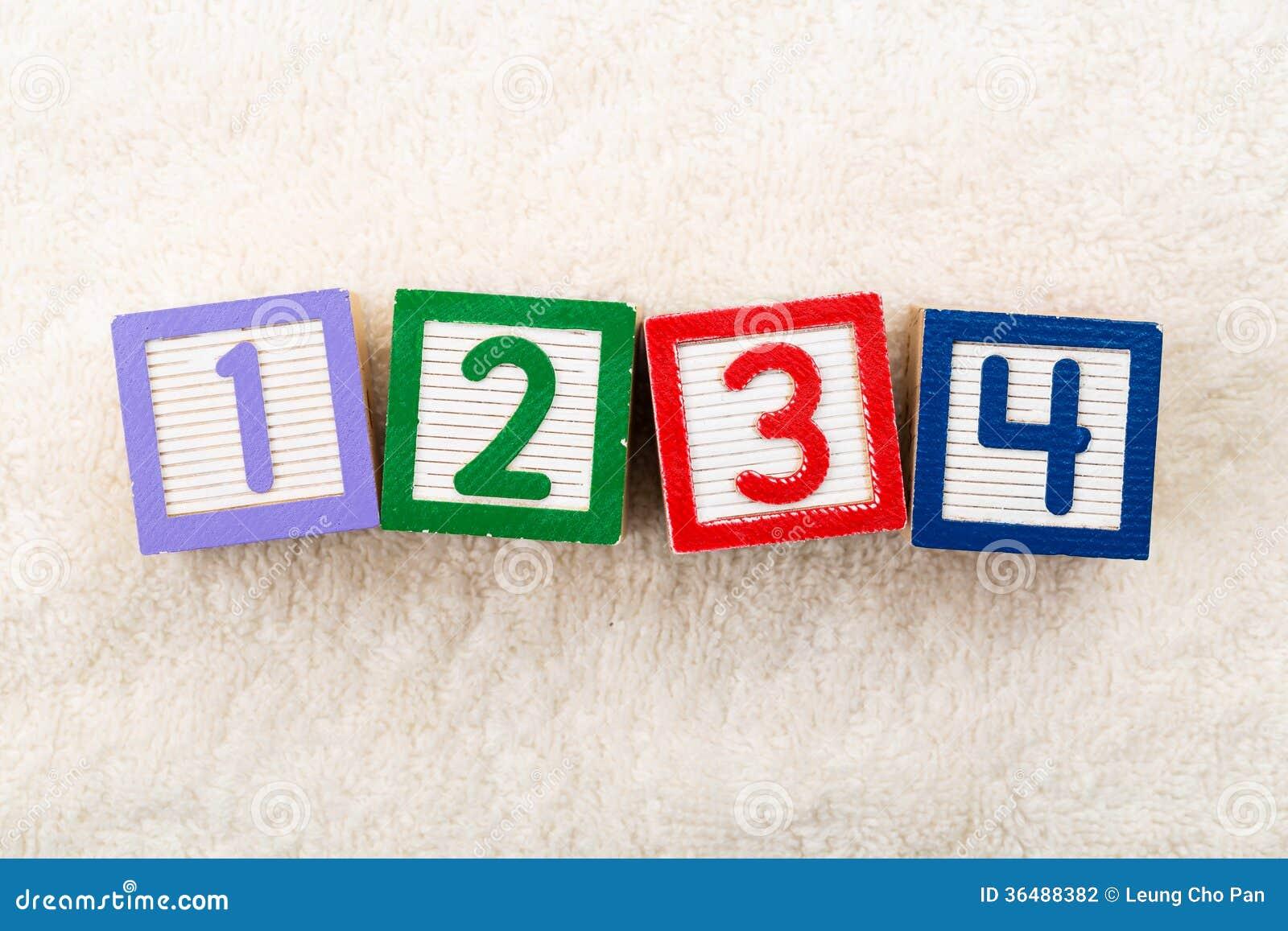 блок 1234 игрушек