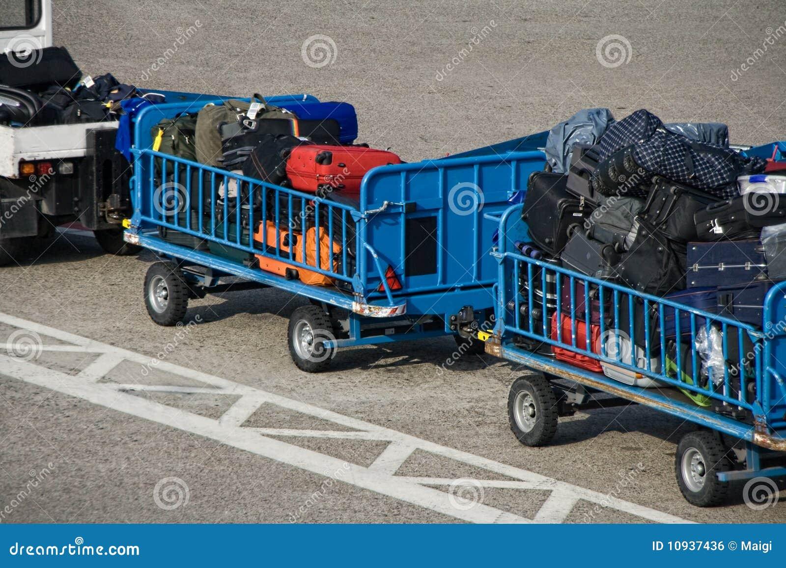 вагонетки багажа
