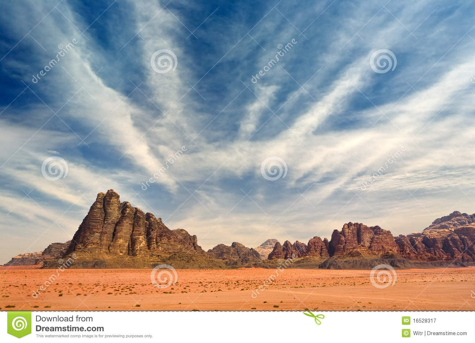 вади рома пустыни
