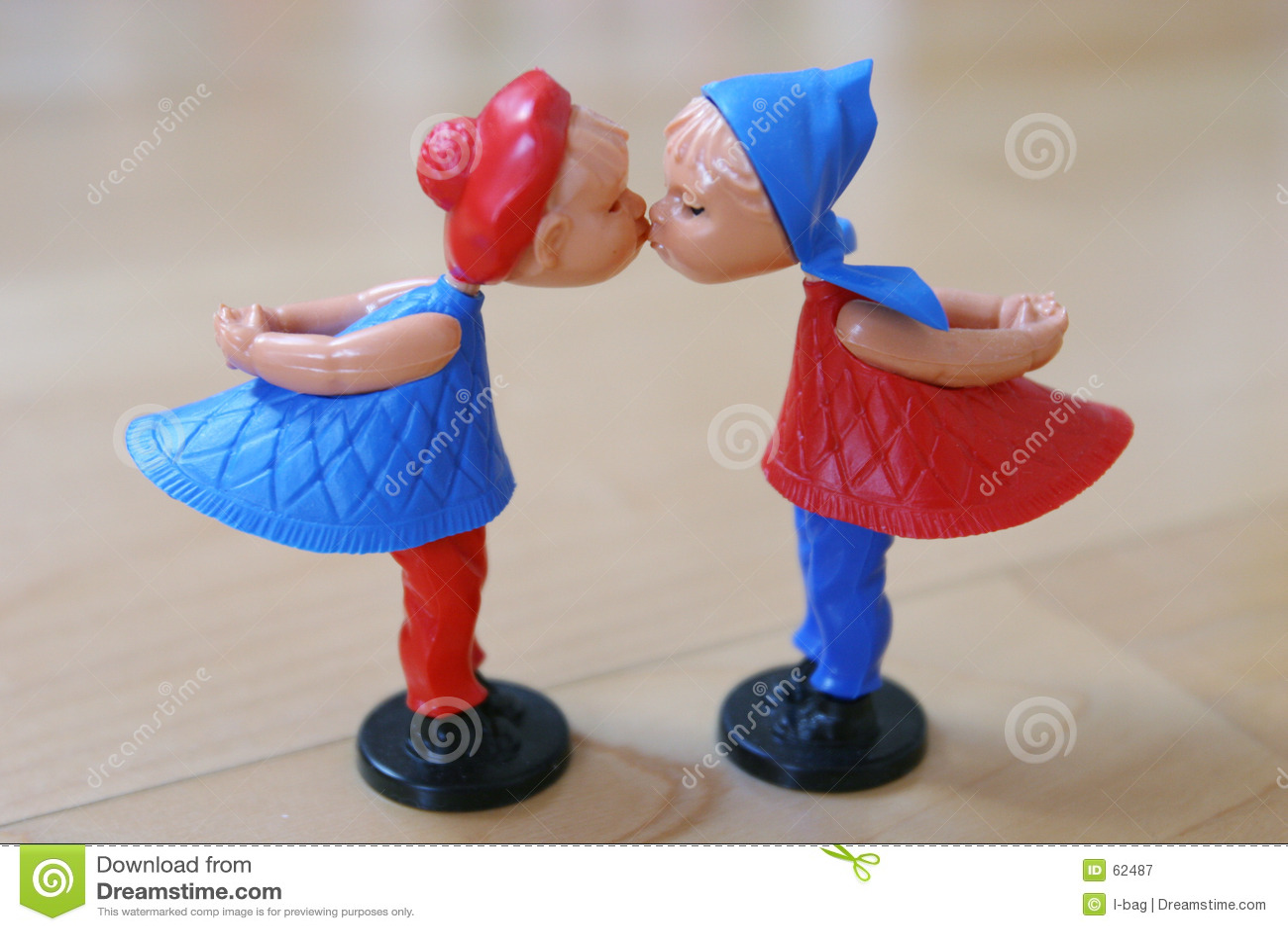 Валентайн марионеток пар