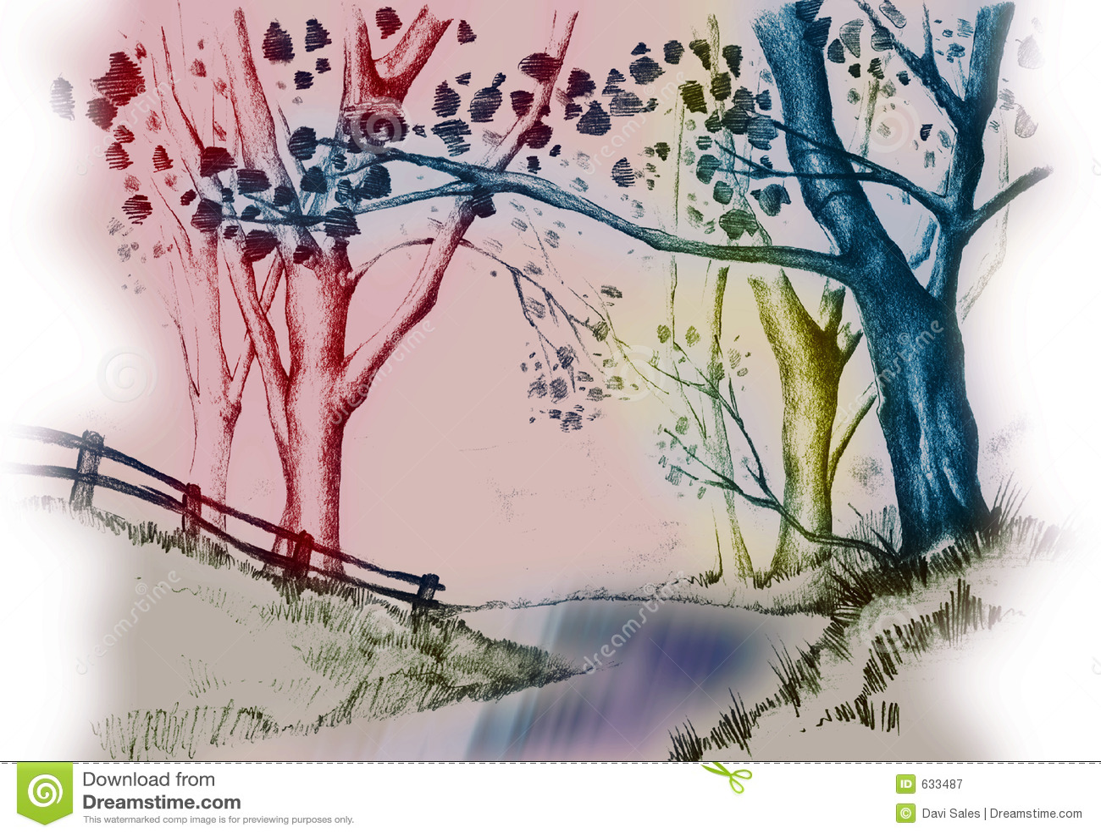 Download валы реки иллюстрация штока. иллюстрации насчитывающей вал - 633487