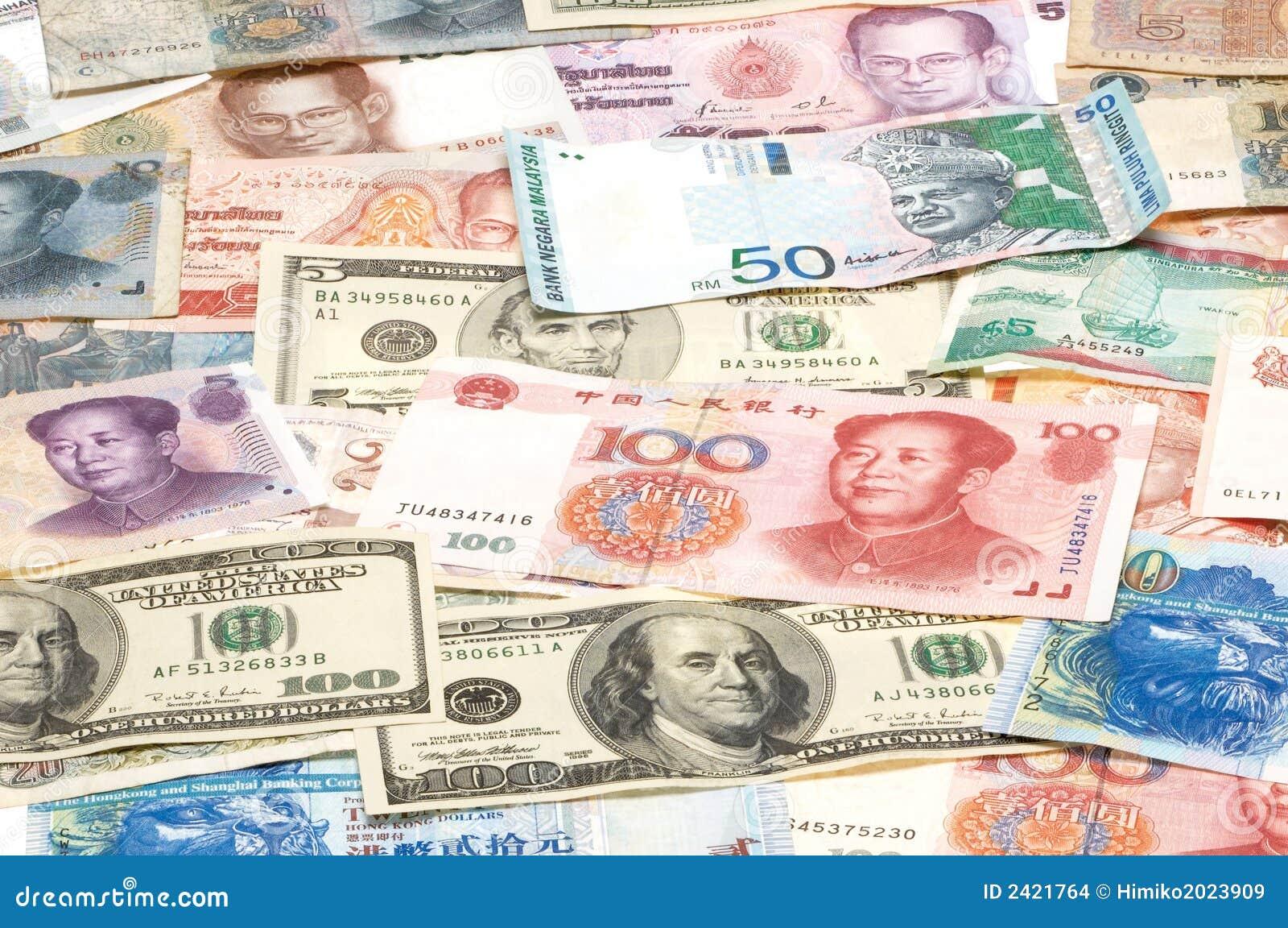 валюты чужие