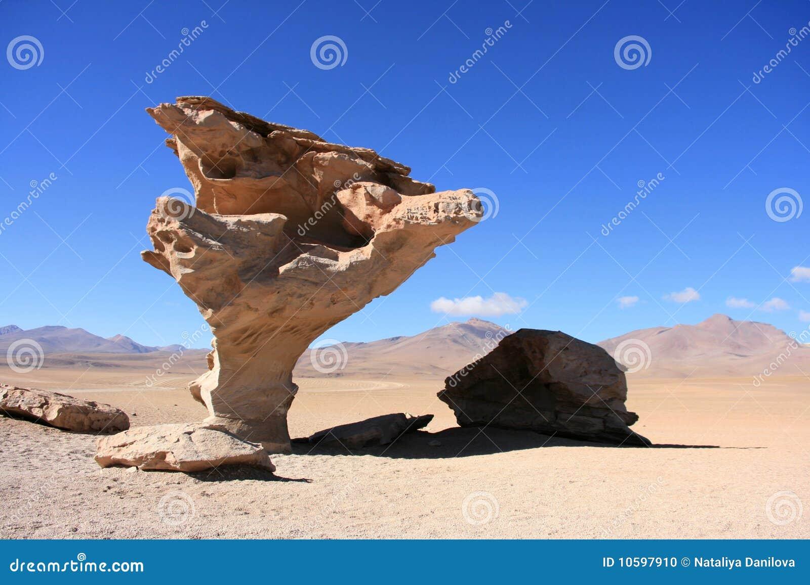 вал камня пустыни atacama