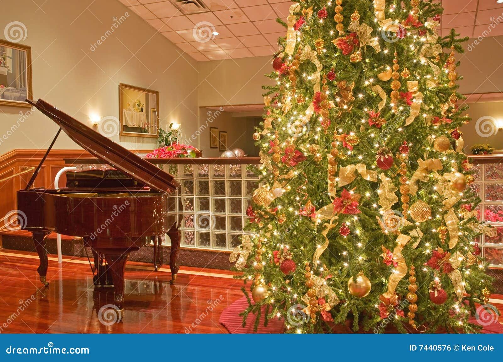 вал рояля рождества