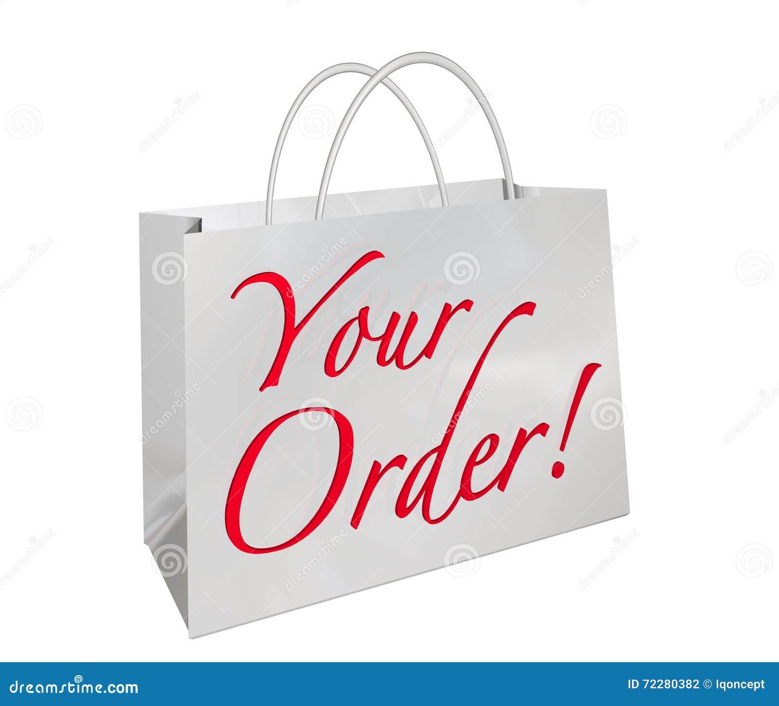 Download Ваши слова 3d Illustrat нового товара хозяйственной сумки заказа готовые Иллюстрация штока - иллюстрации насчитывающей товар, клиент: 72280382