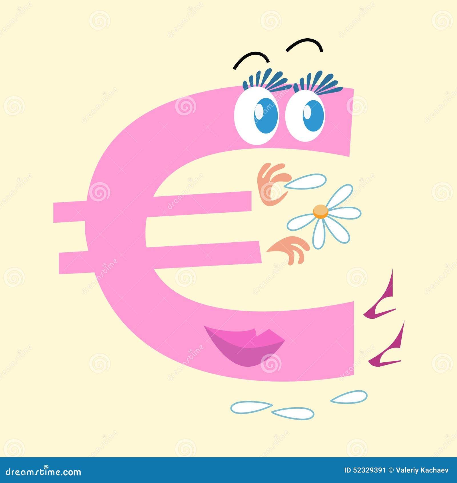 Валюта Европа знака евро национальная