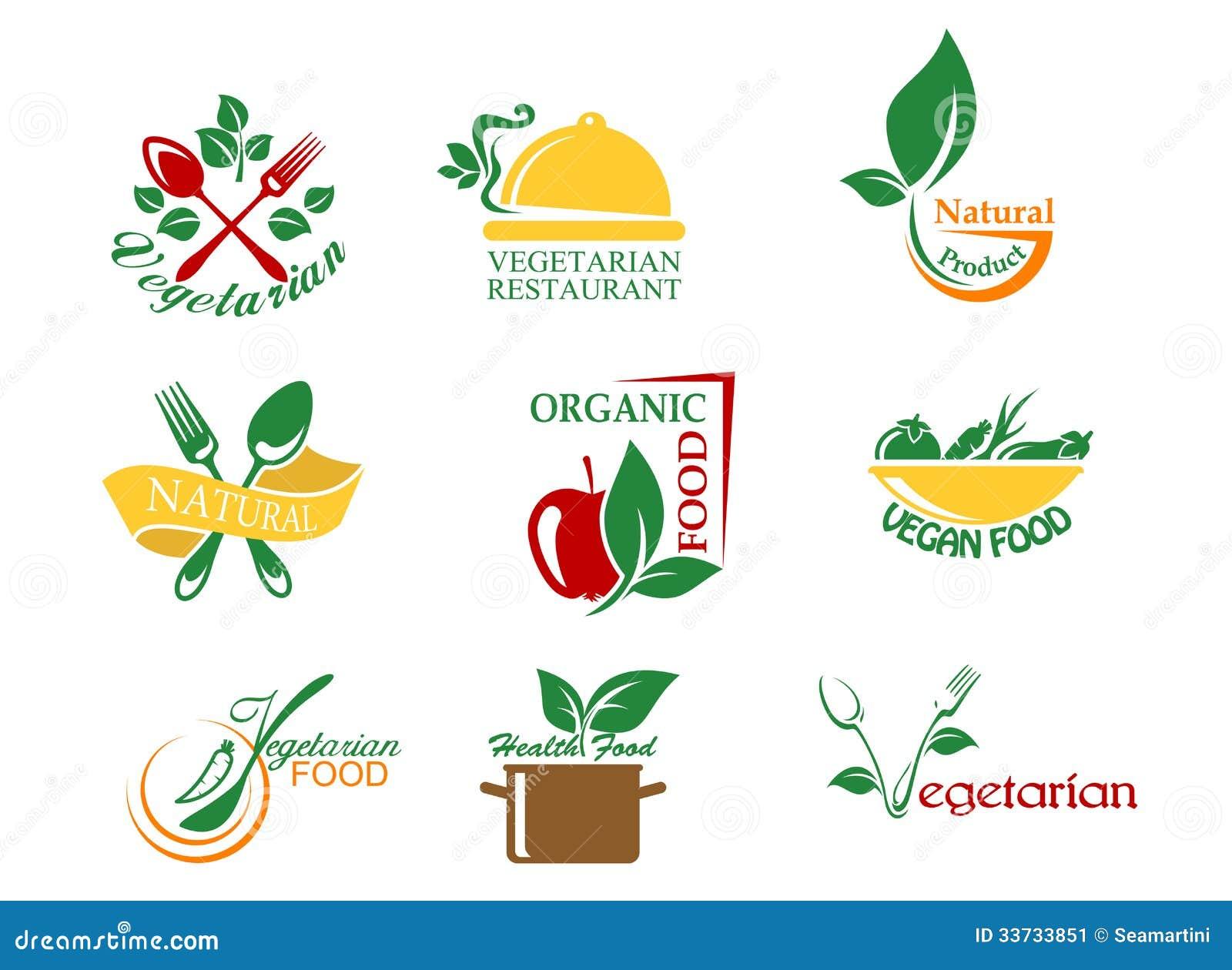 Вегетарианские символы еды
