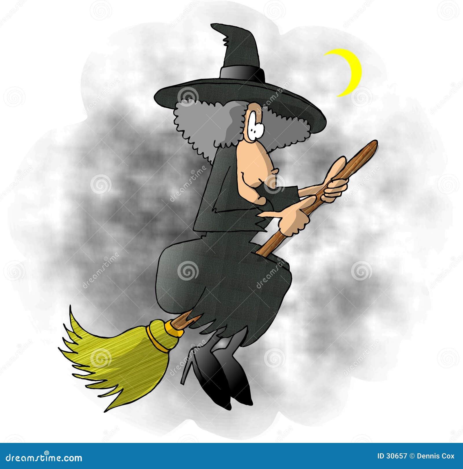 ведьма летания