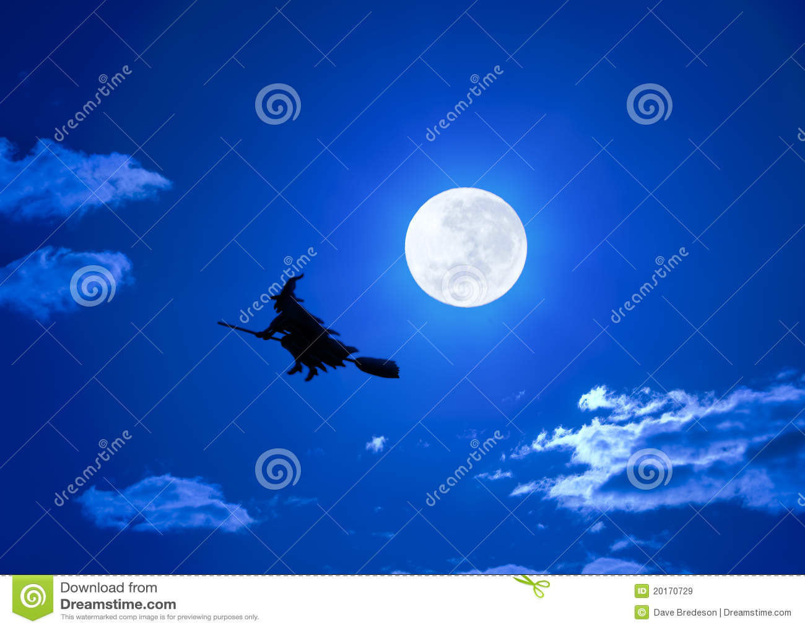ведьма halloween летания broomstick