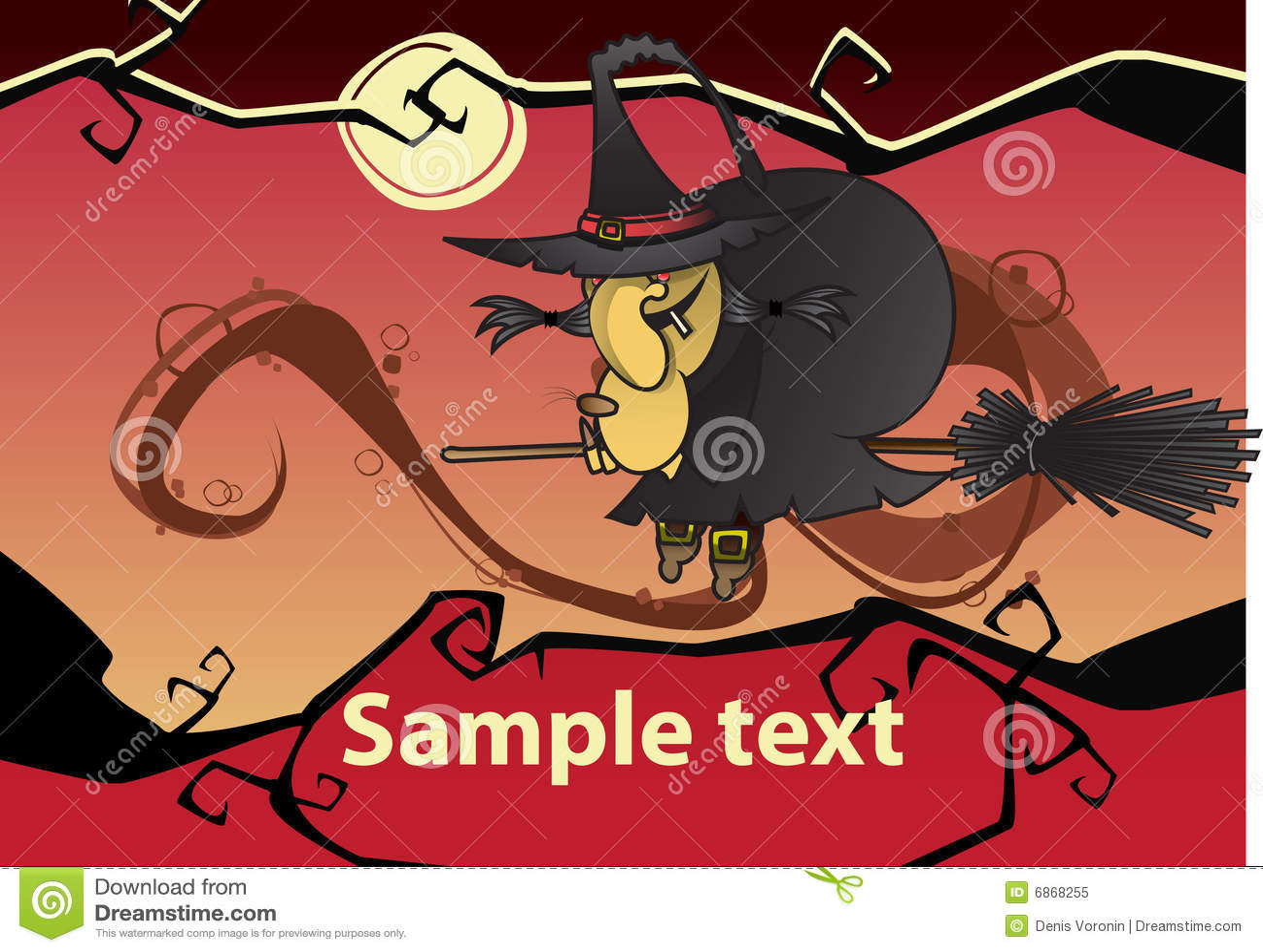 ведьма halloween