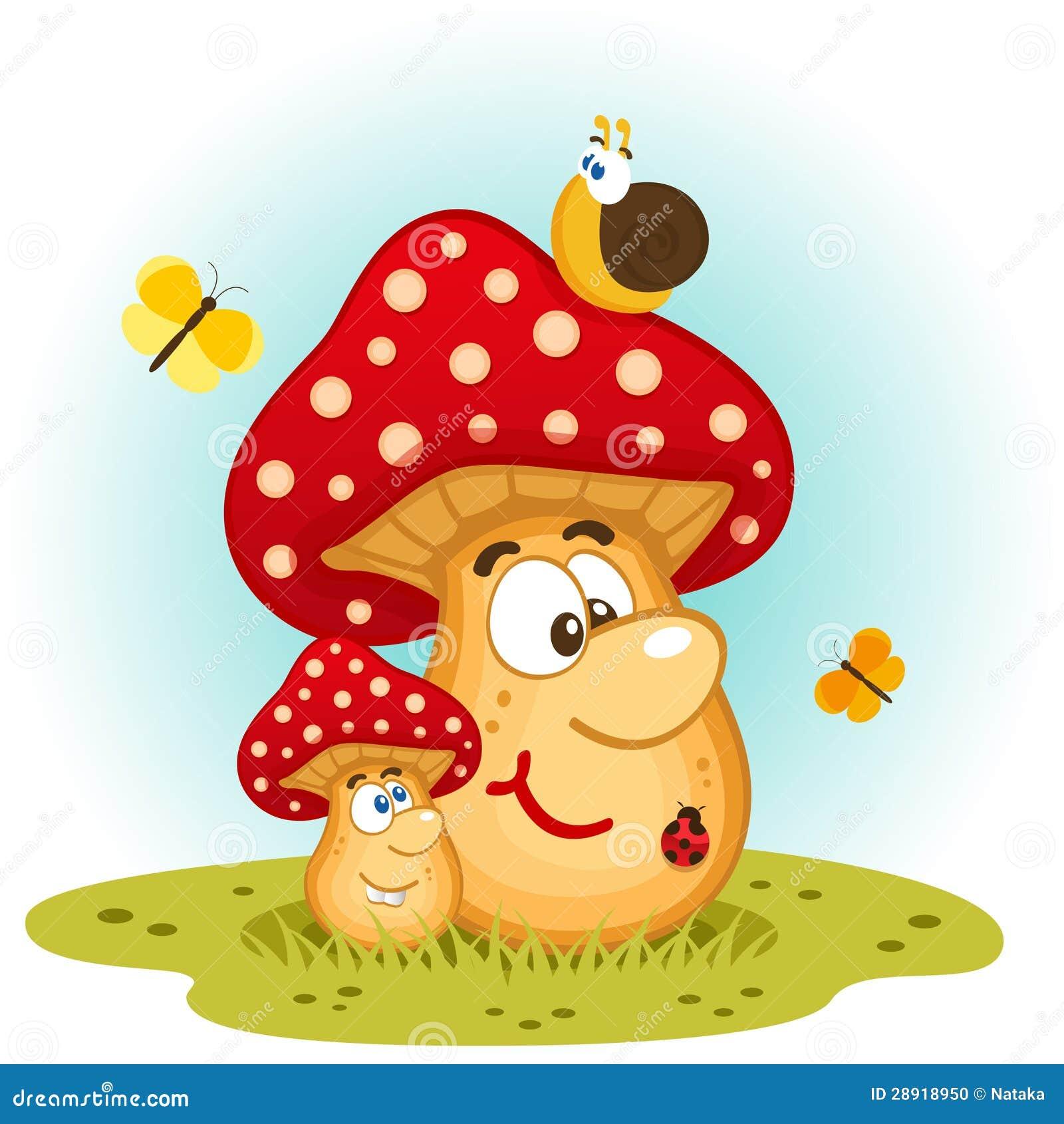 картинки смешные грибов