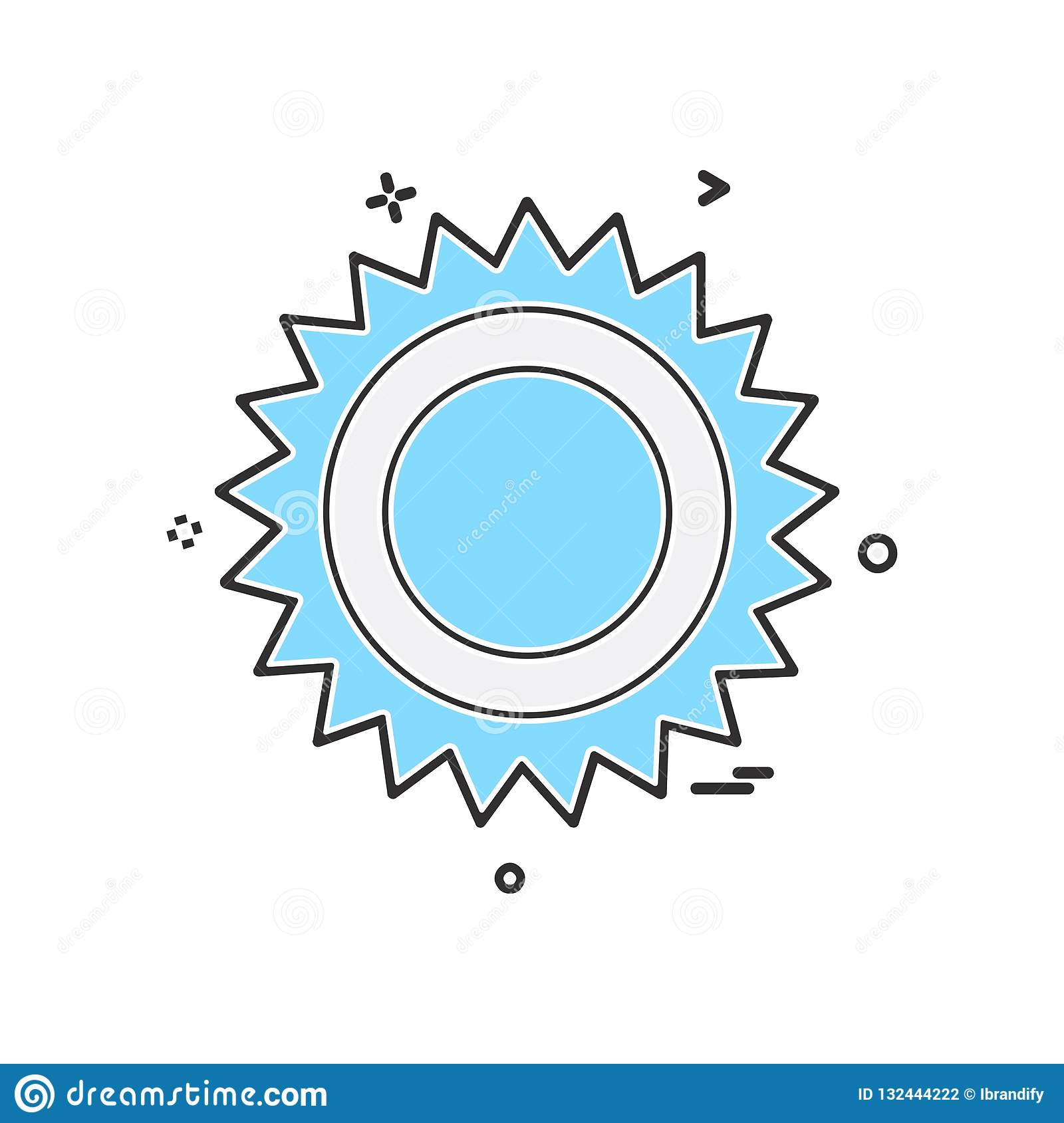 Вектор дизайна значка шестерни