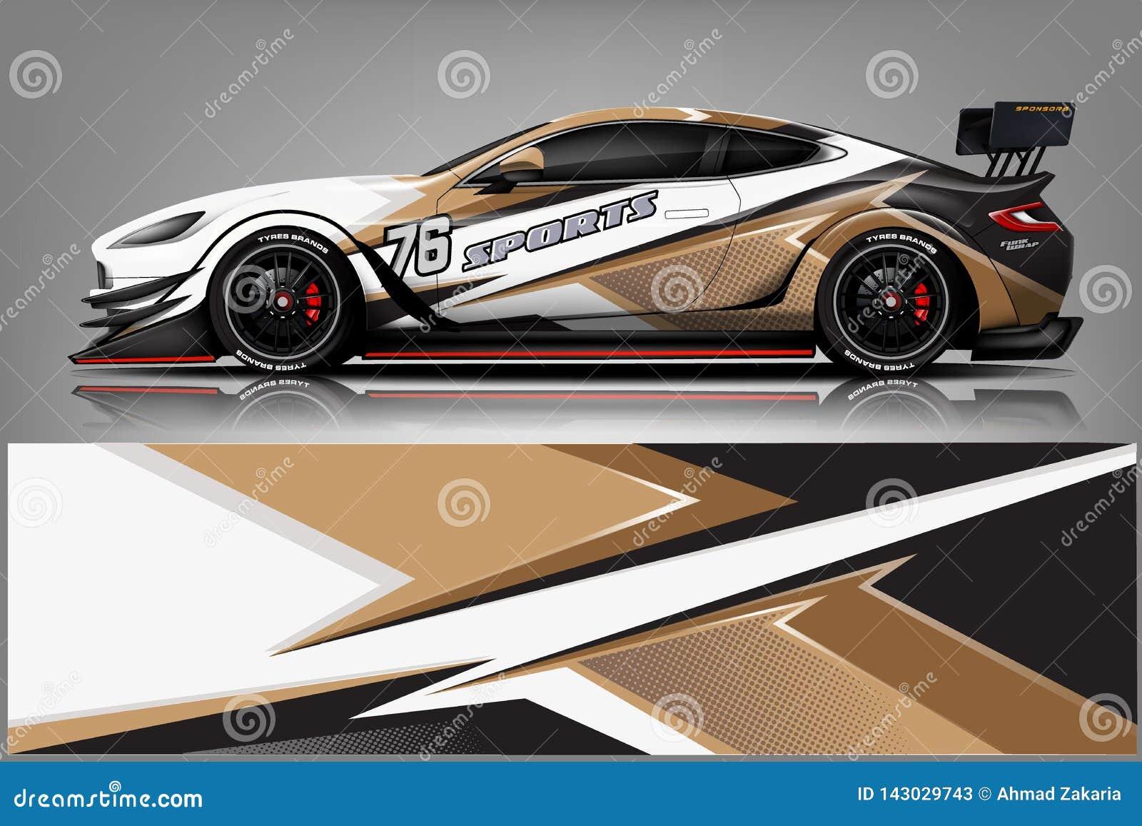 Вектор дизайна обруча этикеты автомобиля Дизайны набора предпосылки графической абстрактной нашивки участвуя в гонке для корабля,