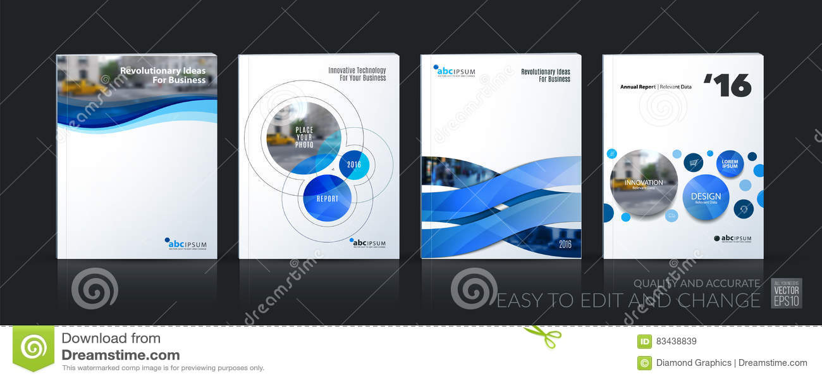 Вектор дела План шаблона брошюры, покрывает мягкий дизайн ann
