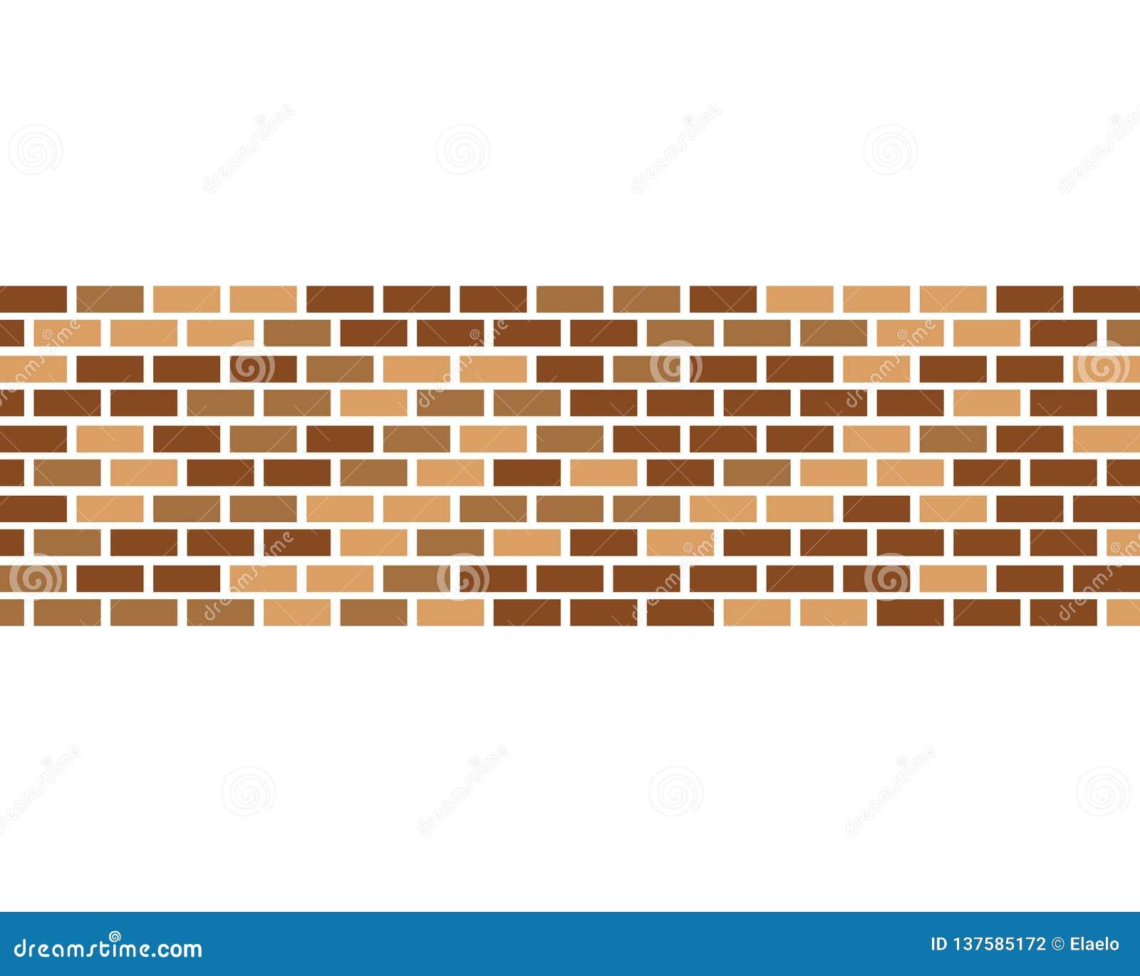 Вектор значка кирпичной стены