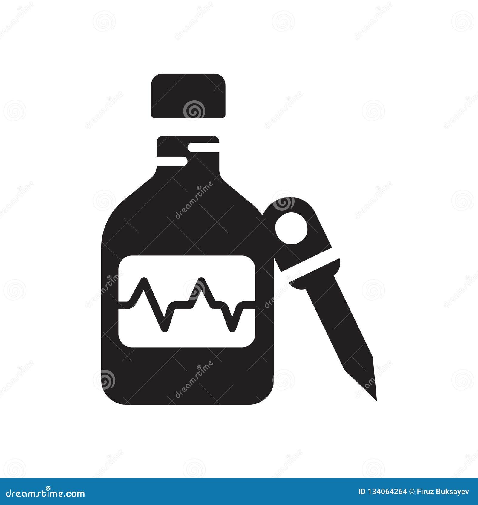 Вектор значка медицины изолированный на белой предпосылке, знаке медицины, медицинских символах здоровья