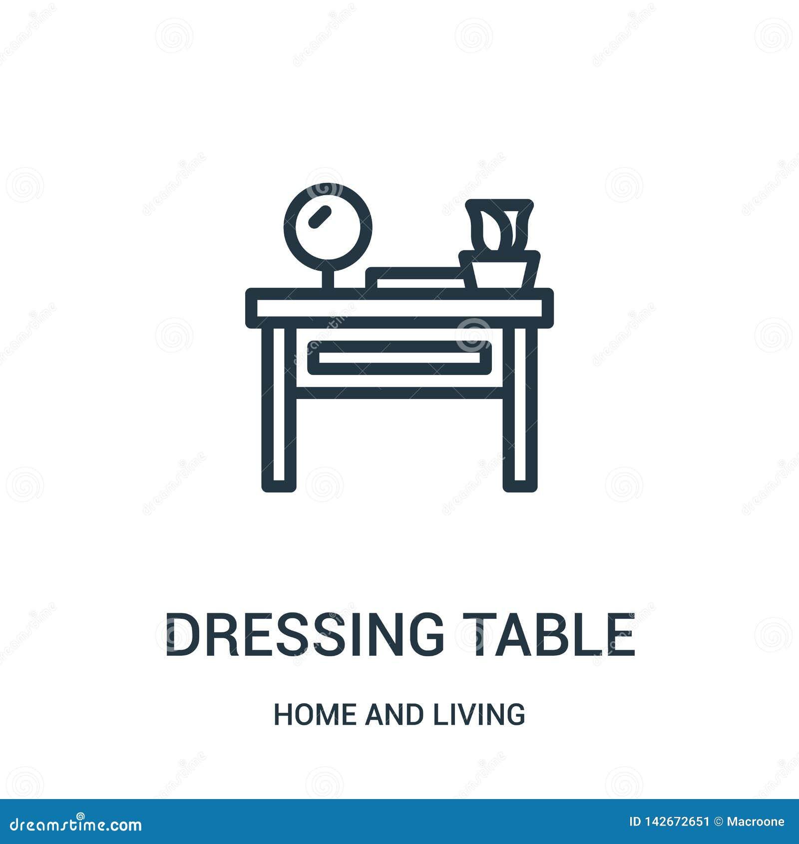 вектор значка таблицы шлихты от дома и живущего собрания Тонкая линия иллюстрация вектора значка плана таблицы шлихты линейно