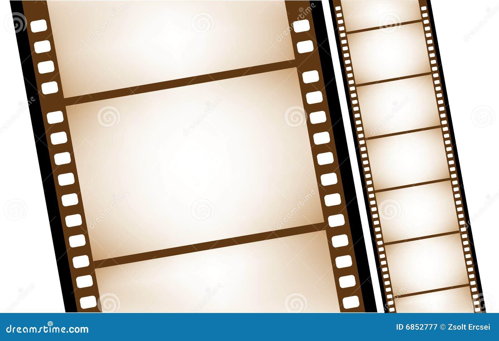 вектор изолированный filmstrip старый