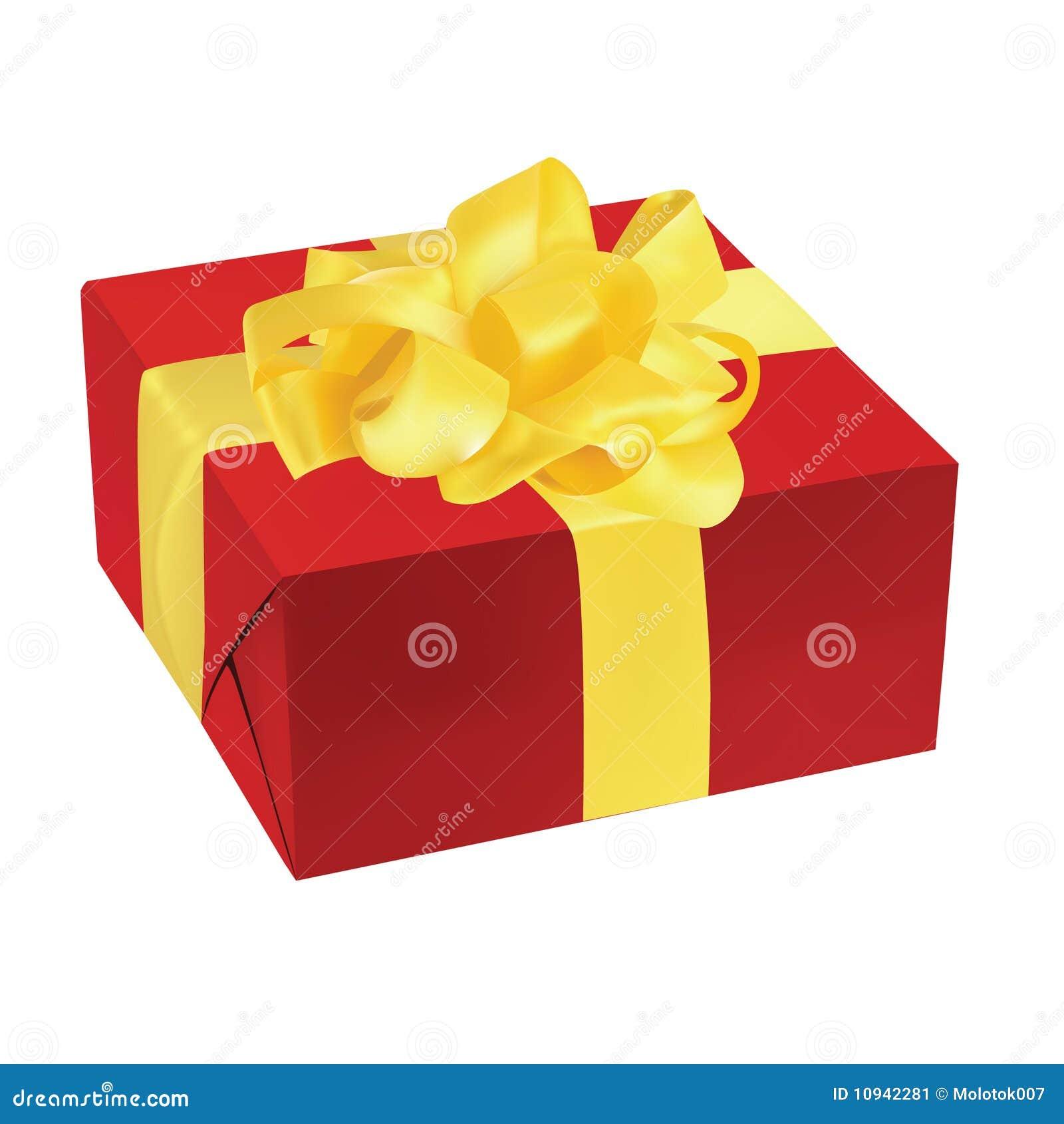 вектор иллюстрации подарка коробки