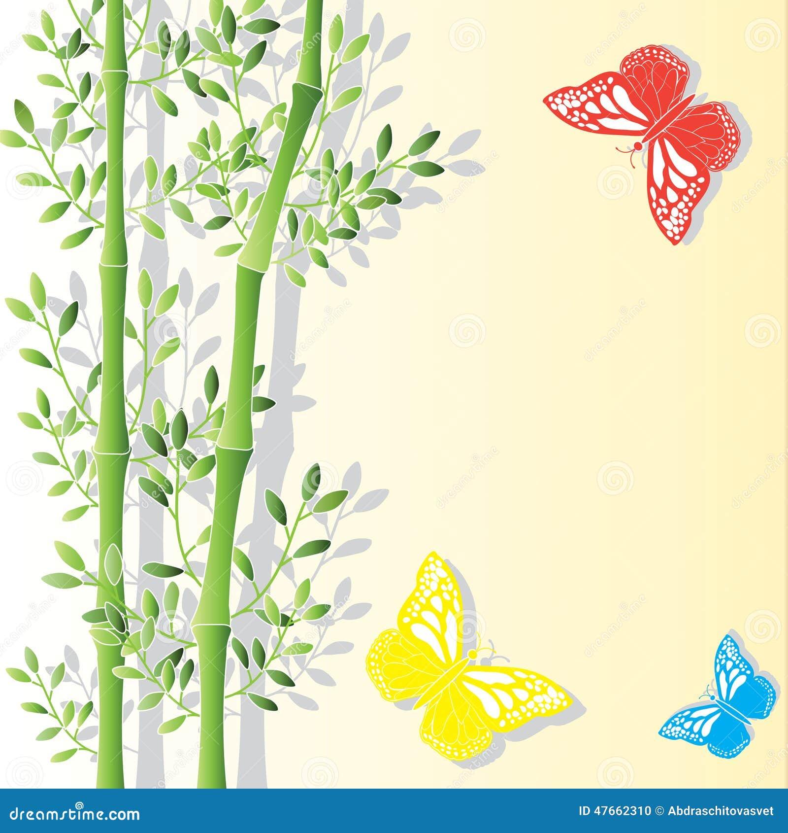 вектор иллюстрации eps 10 предпосылок bamboo
