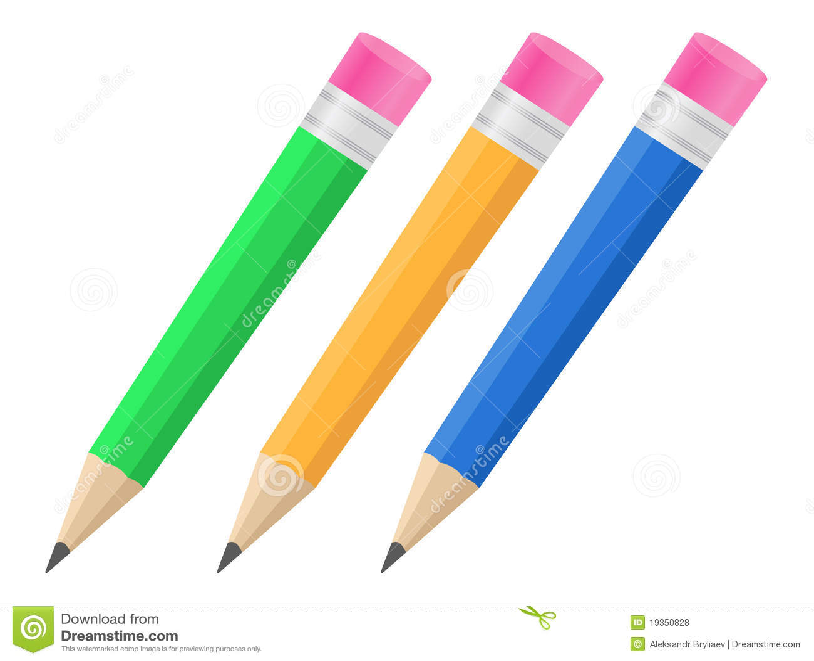 вектор карандашей