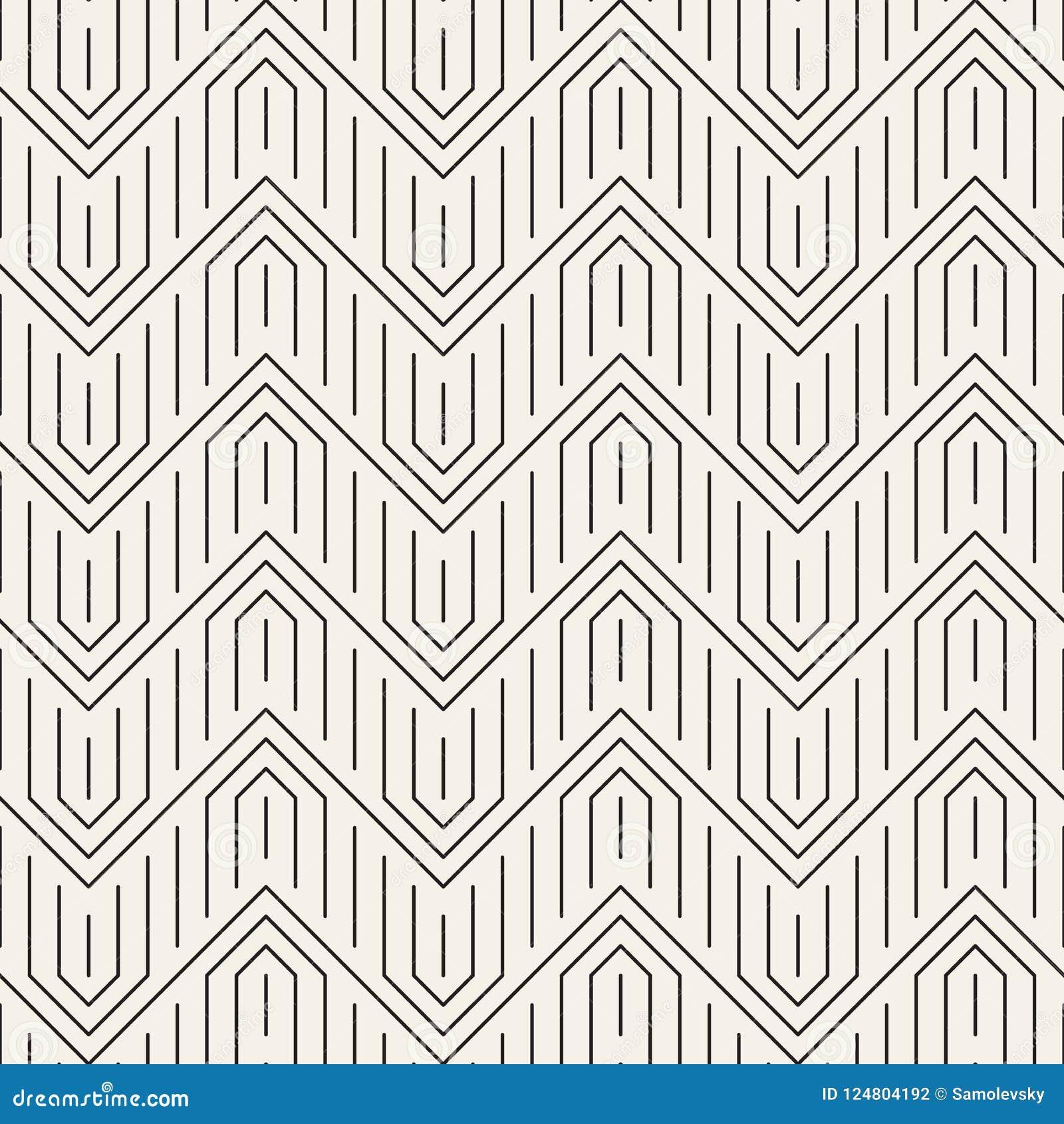 вектор картины безшовный Современная стильная абстрактная текстура Повторять геометрическое tilesn