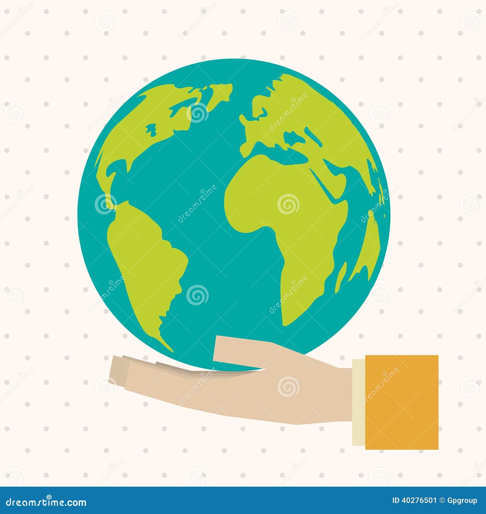 вектор картины экологичности конструкции хороший