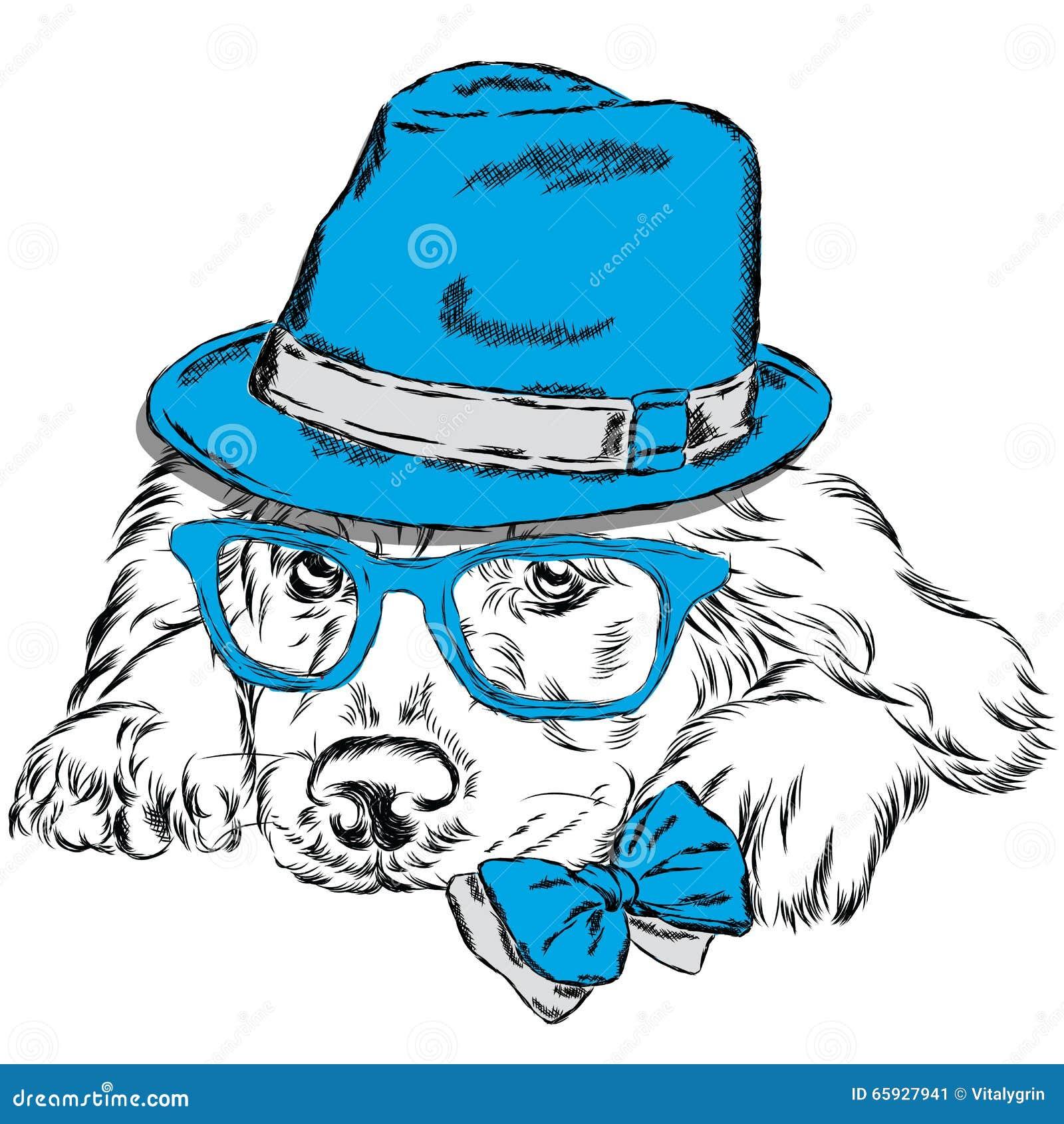 Вектор Лабрадора Собака родословной милый щенок Лабрадор ...