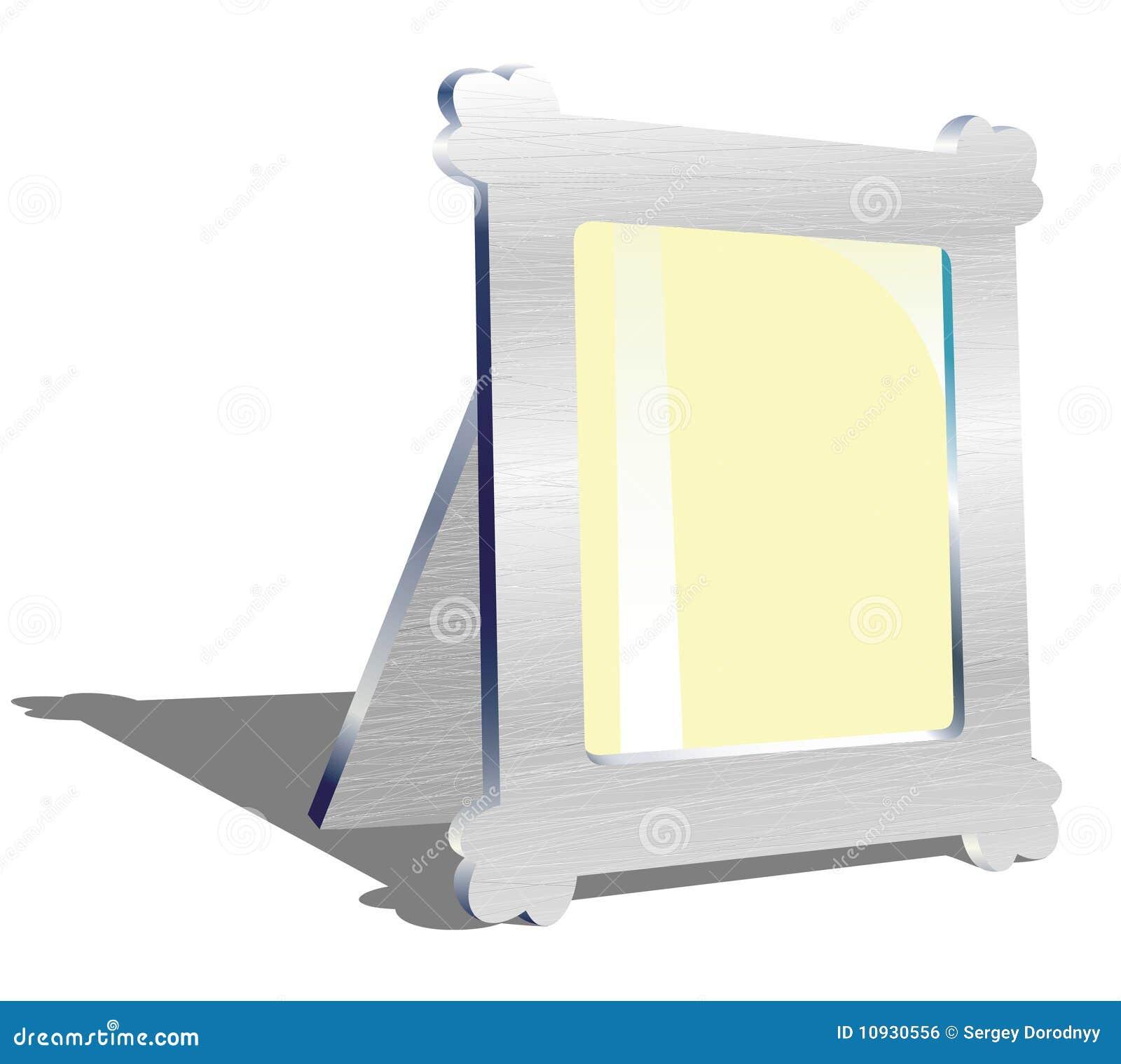 вектор металла иллюстрации рамки