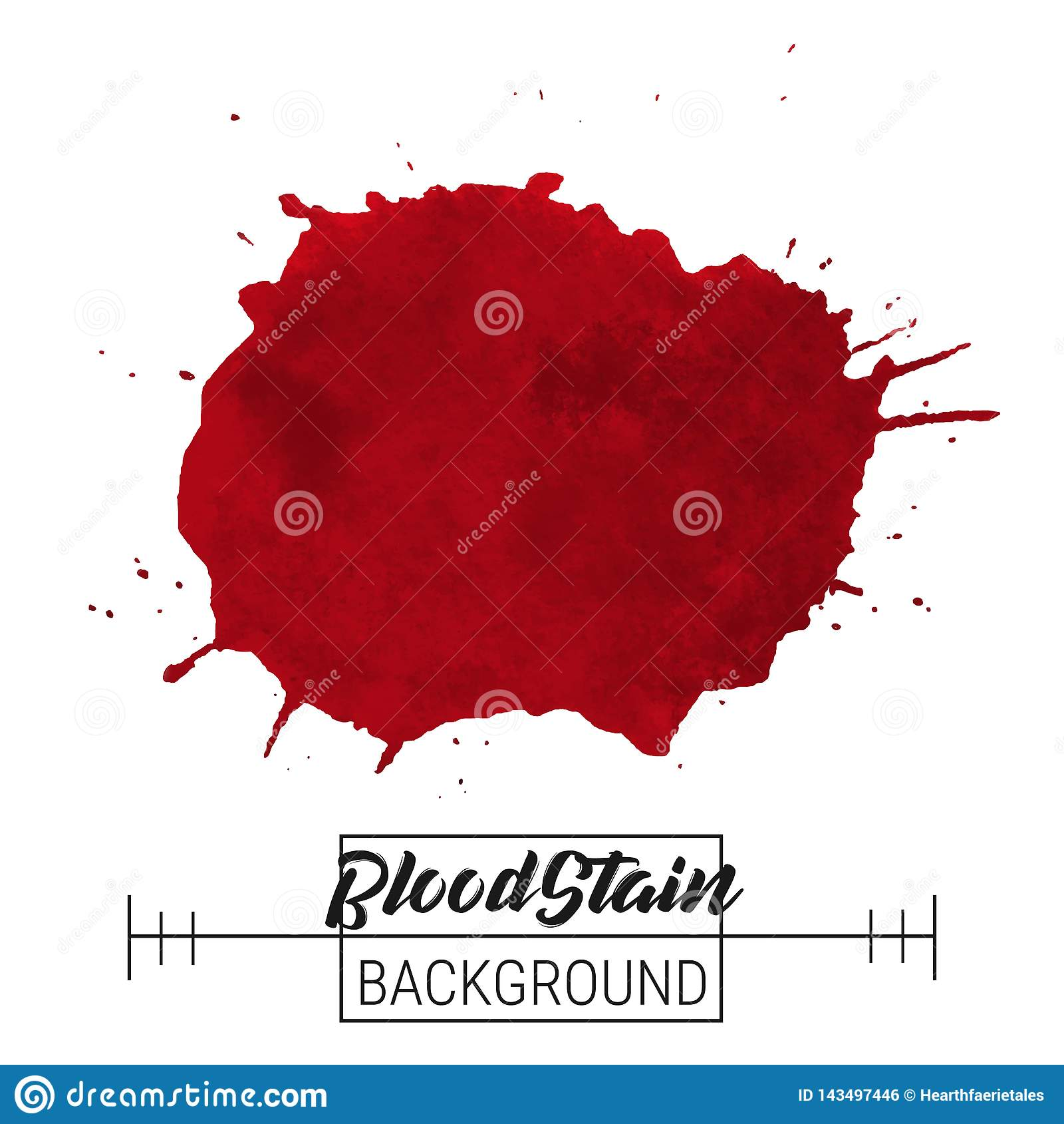 Вектор нашлепки splatter крови Нашлепка splatter крови и вектор падений на белой предпосылке для текста, продажи, знамени