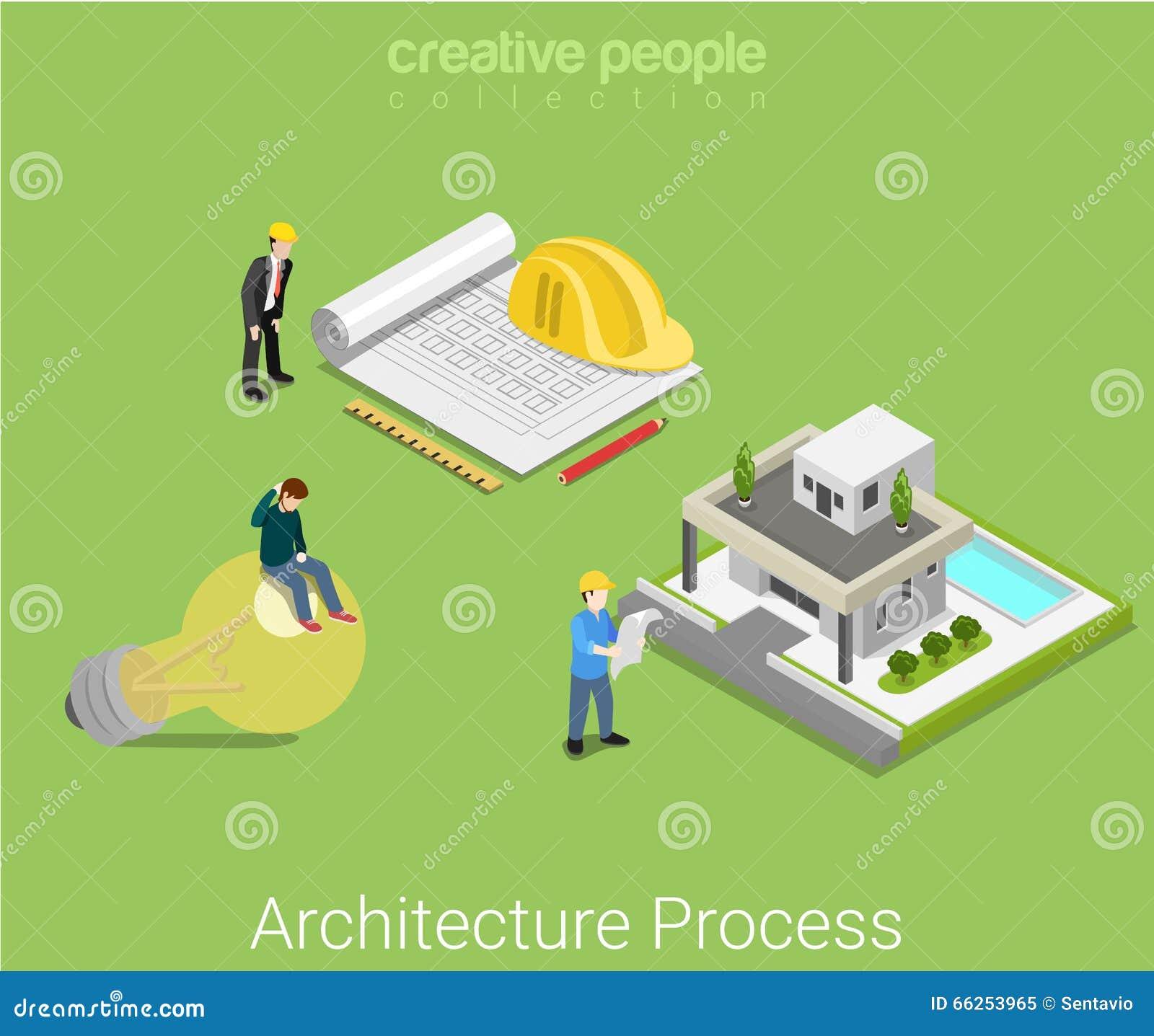 Вектор дома идеи конструкции плана архитектуры плоский равновеликий