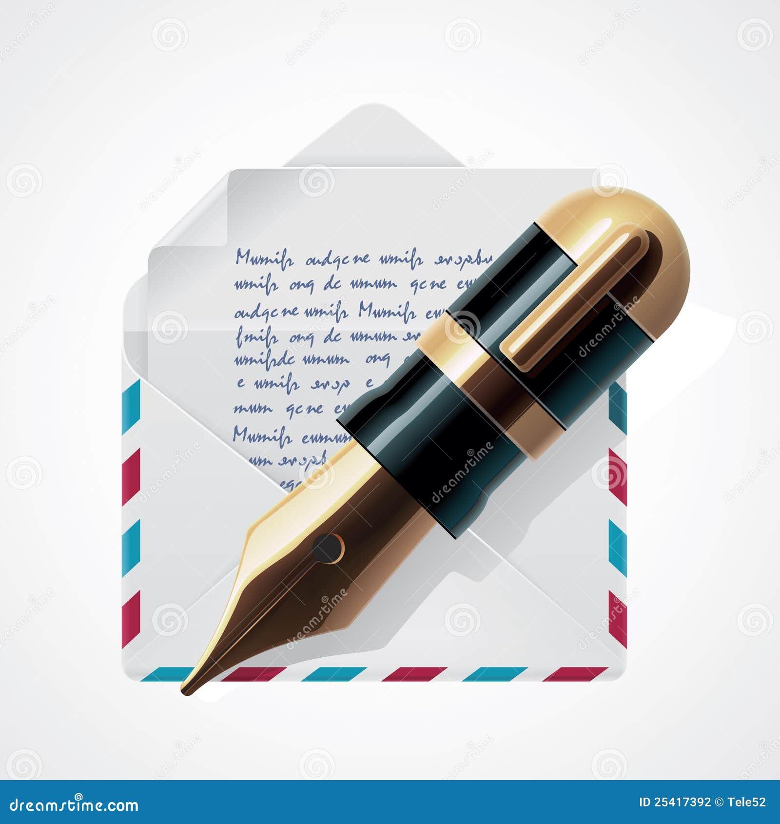 вектор почты иконы