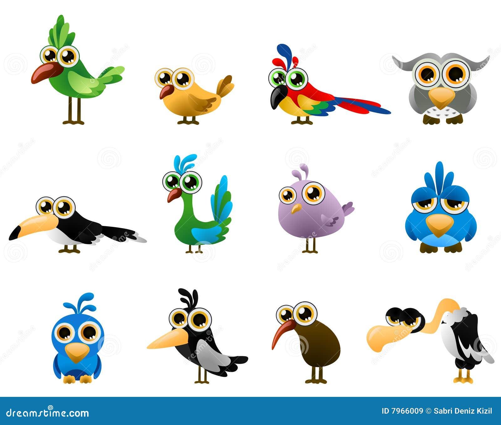 вектор птицы