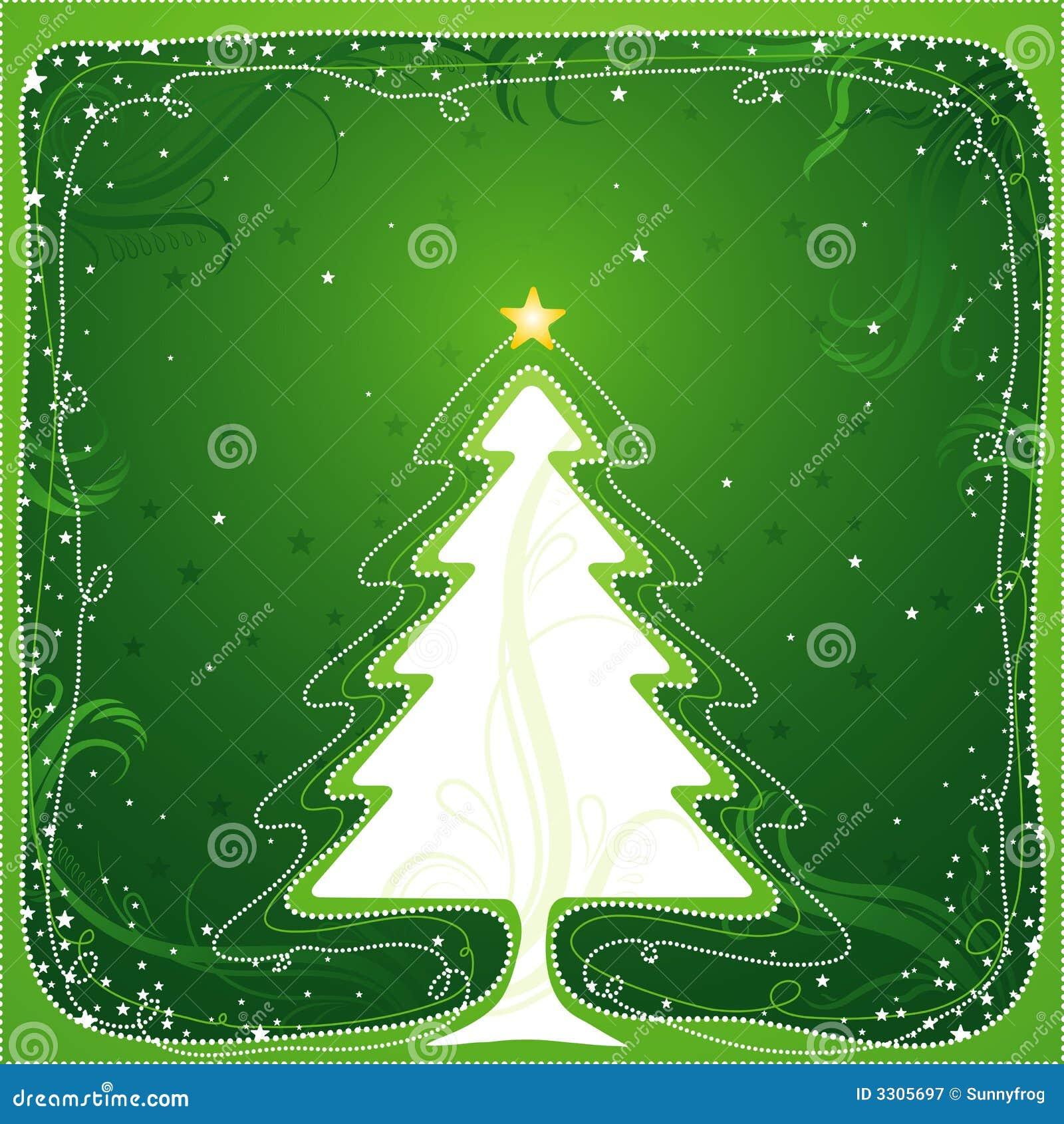 вектор рождественской елки