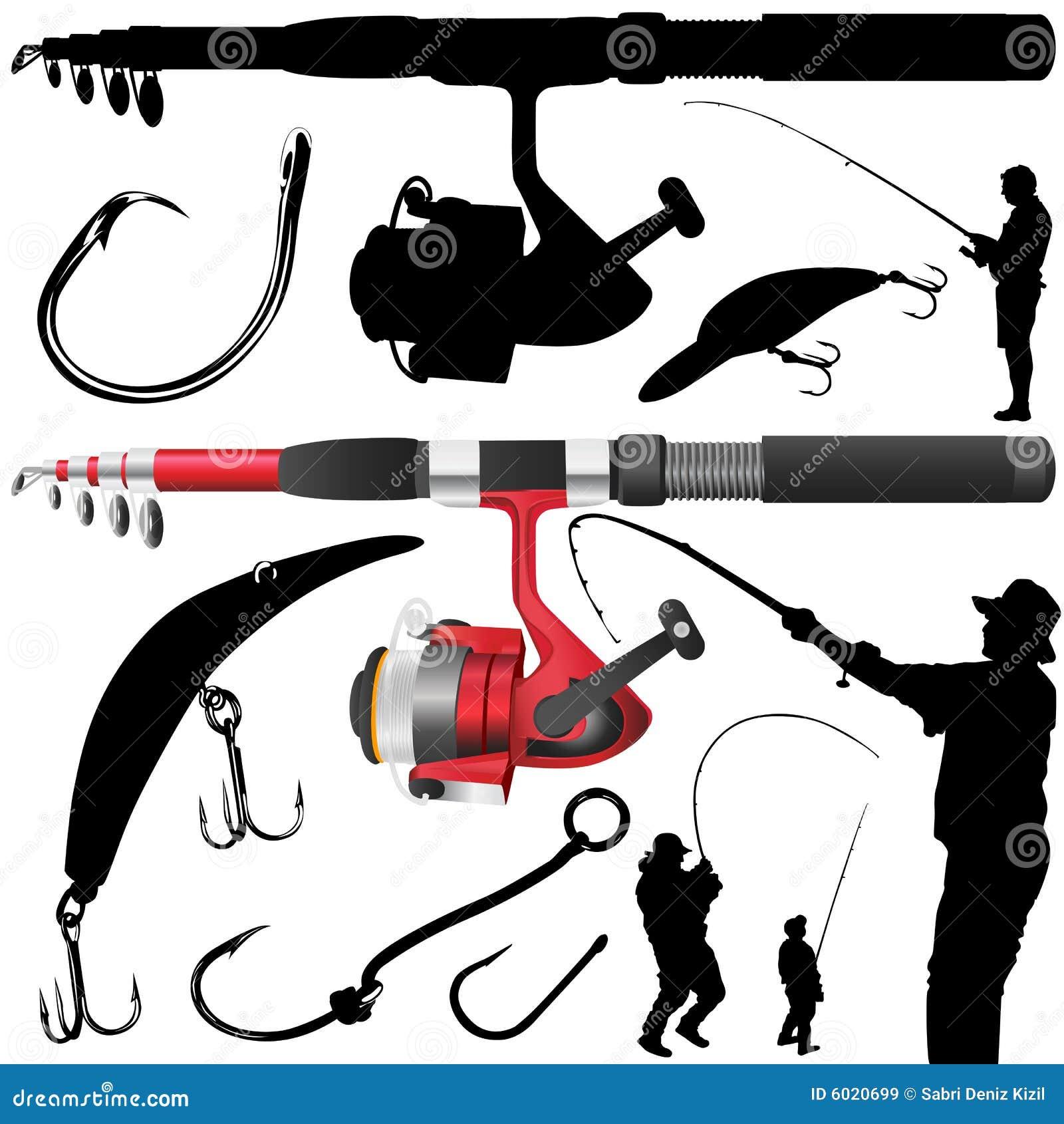 вектор рыболовства