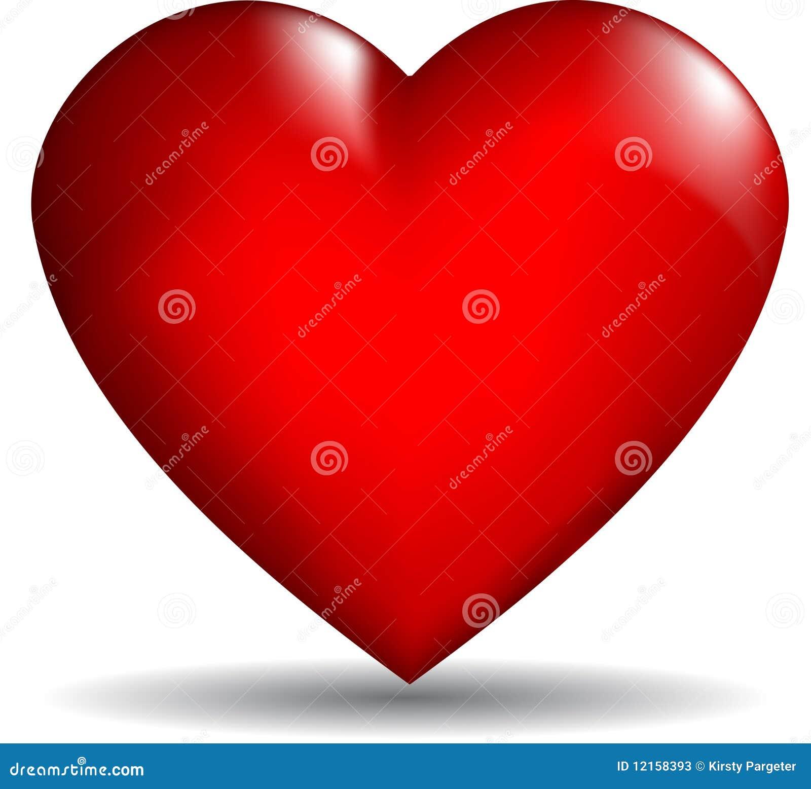 вектор сердца 3d