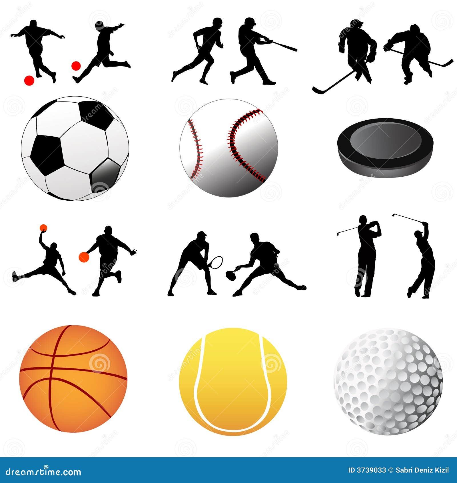 вектор спорта иконы
