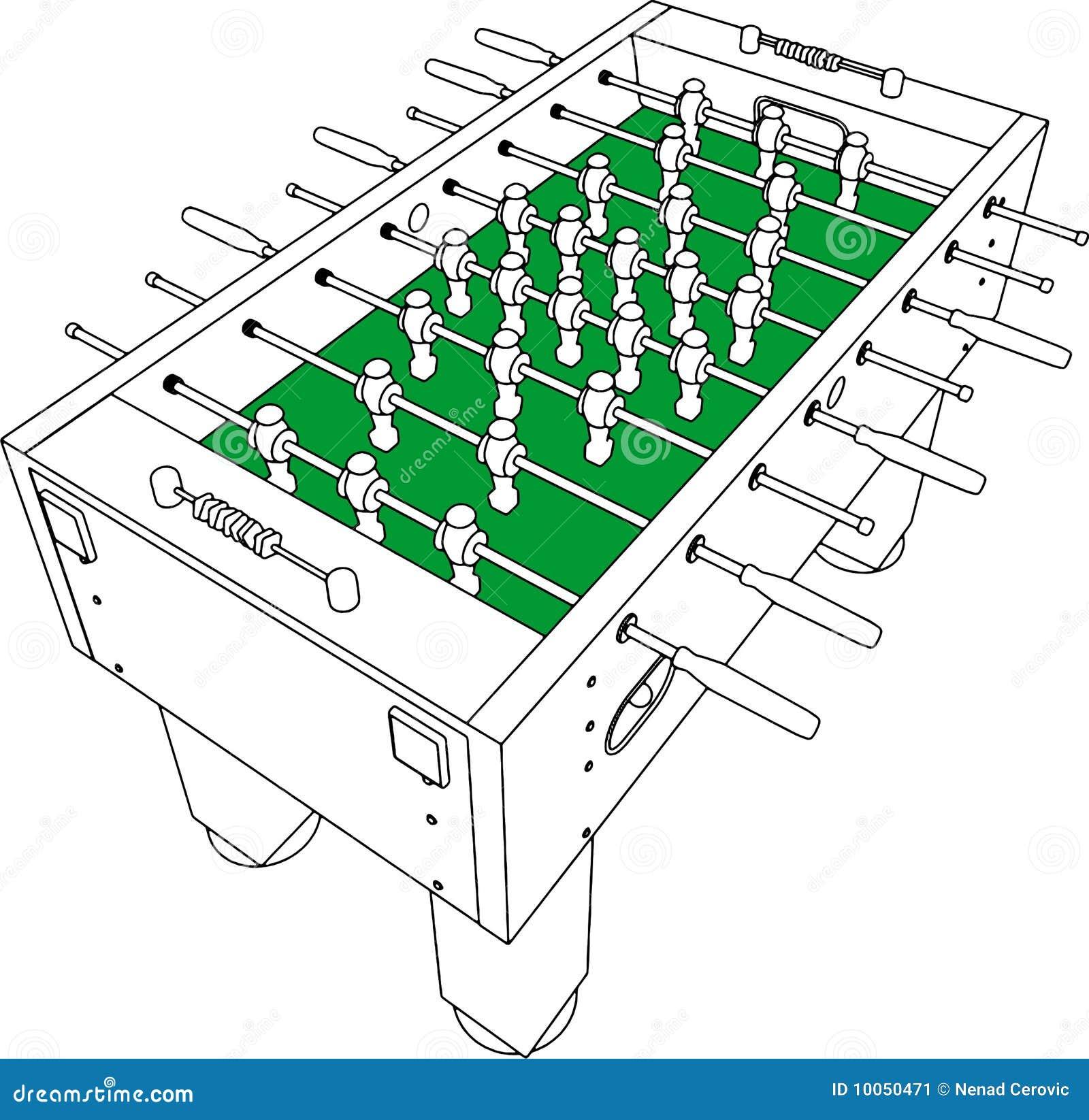 вектор таблицы футбола перспективы футбольной игры