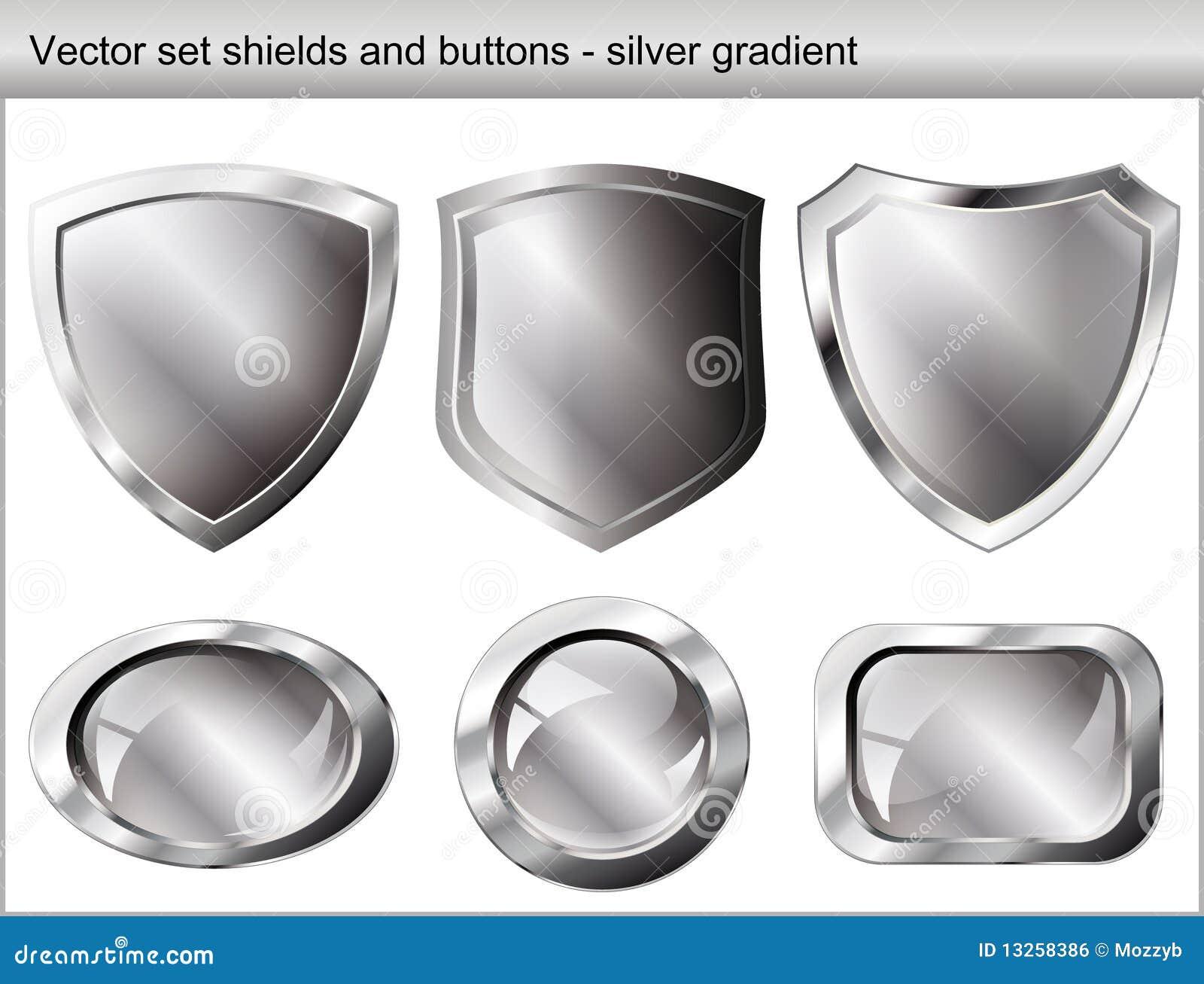 вектор установленного экрана иллюстрации кнопки глянцеватый