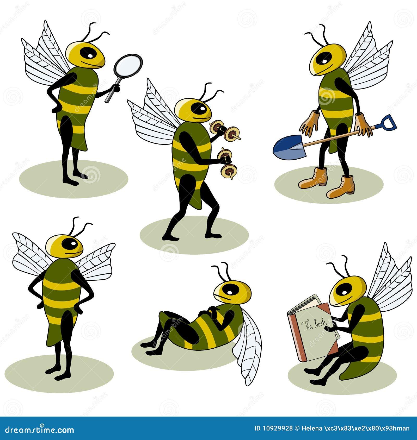 вектор установленный пчелами
