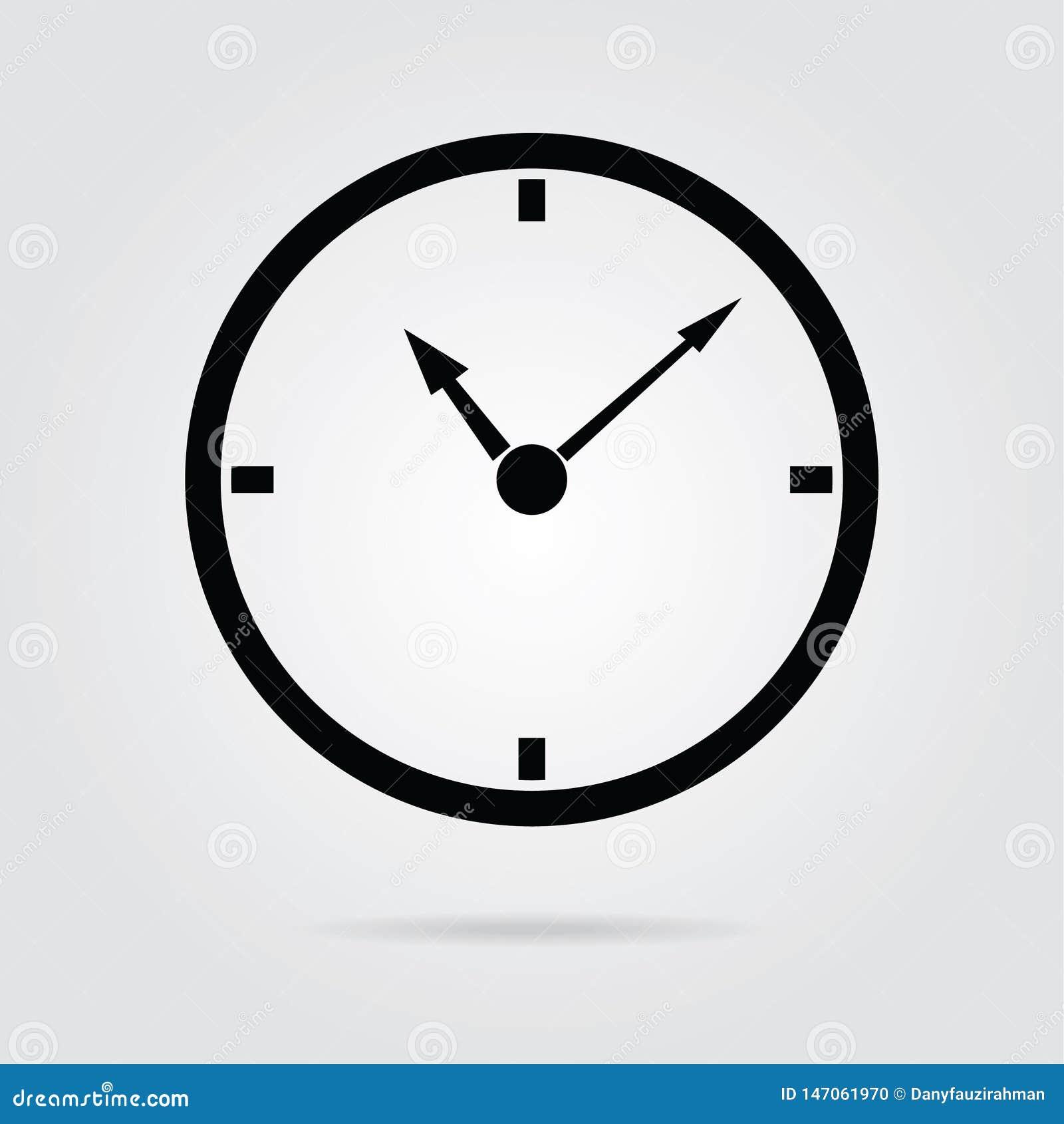 вектор icon-04 времени стиля дизайна запаса плоский