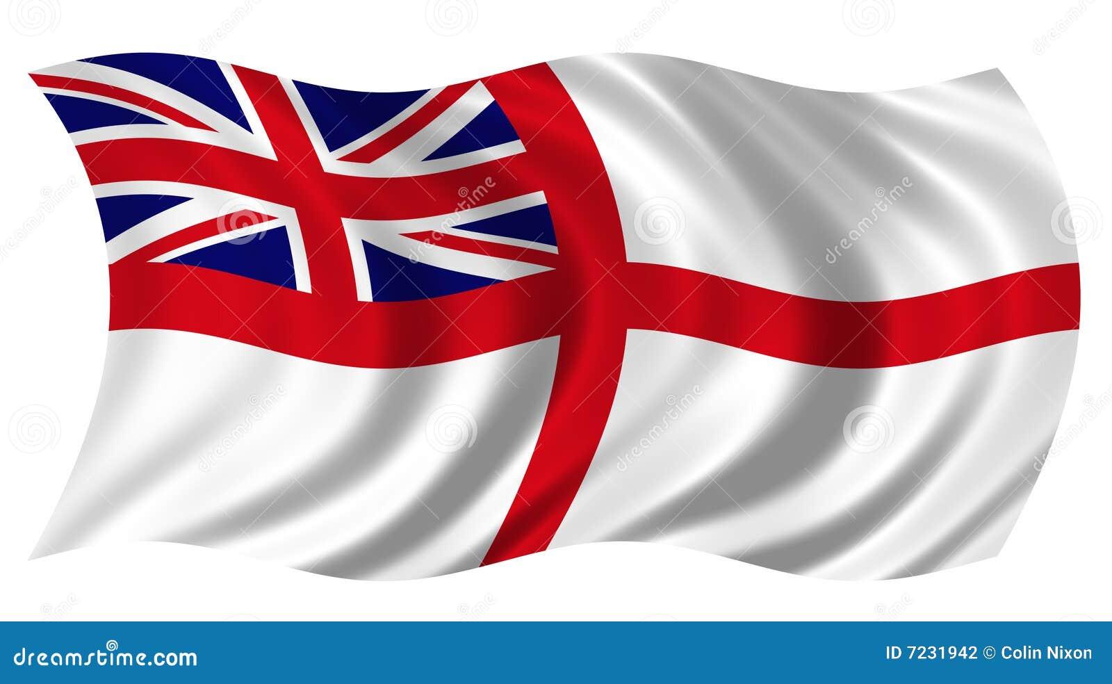 великобританский ensign военноморской