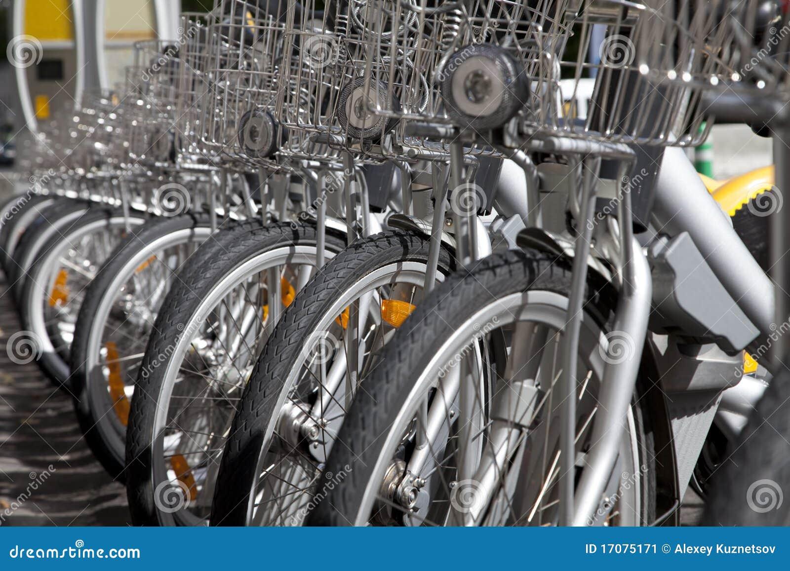 велосипед рента города