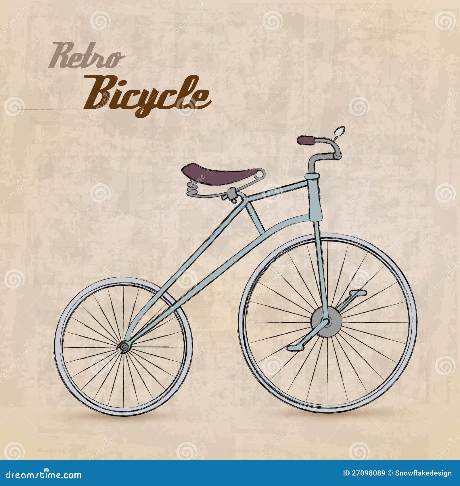 Велосипед сбора винограда ретро