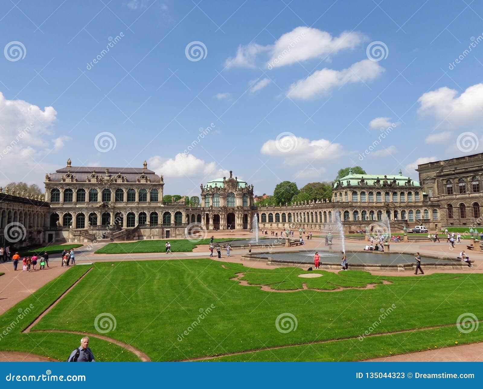 Вена Австрия бельведера дворца парка