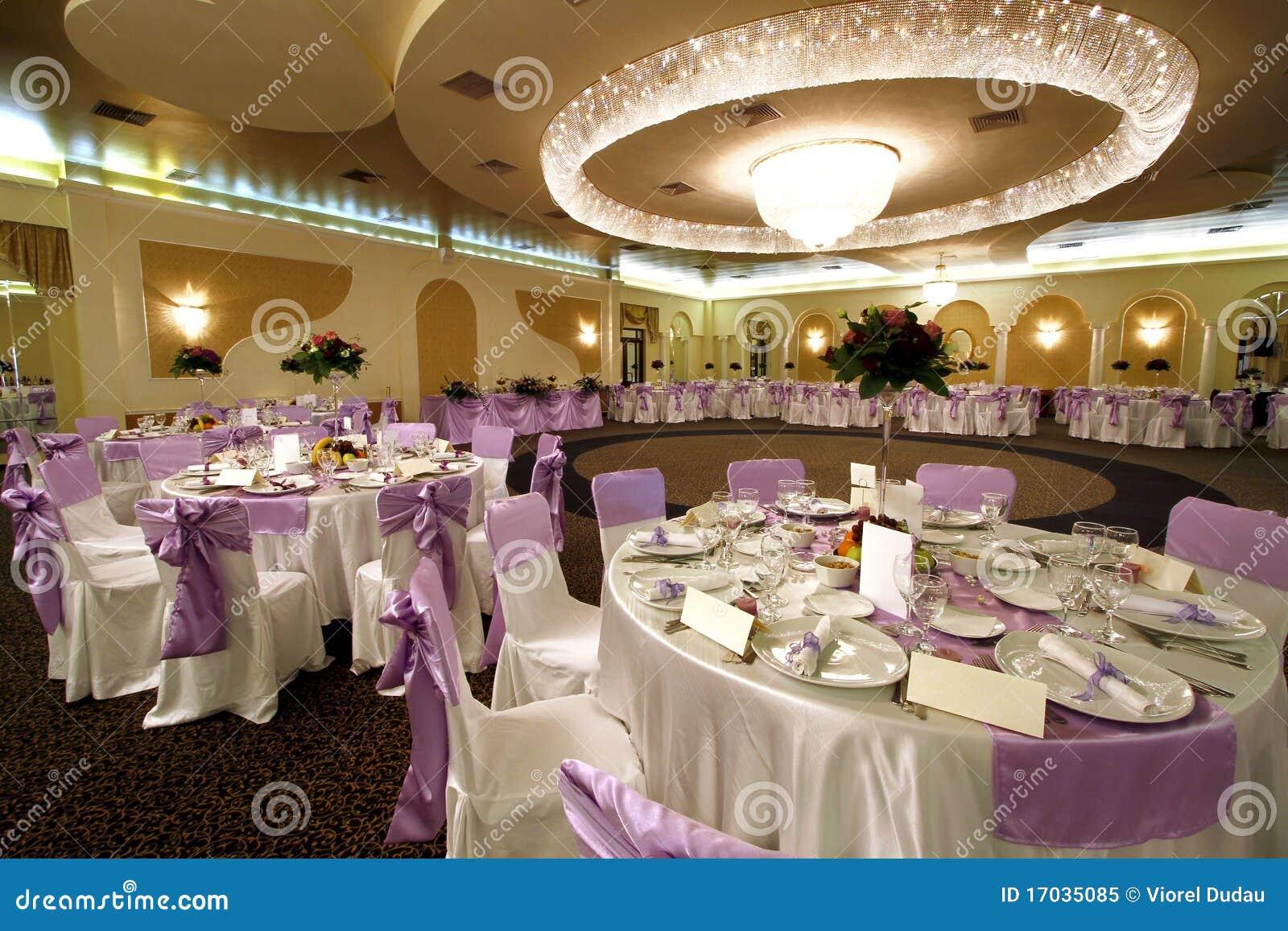 венчание банкета бального зала