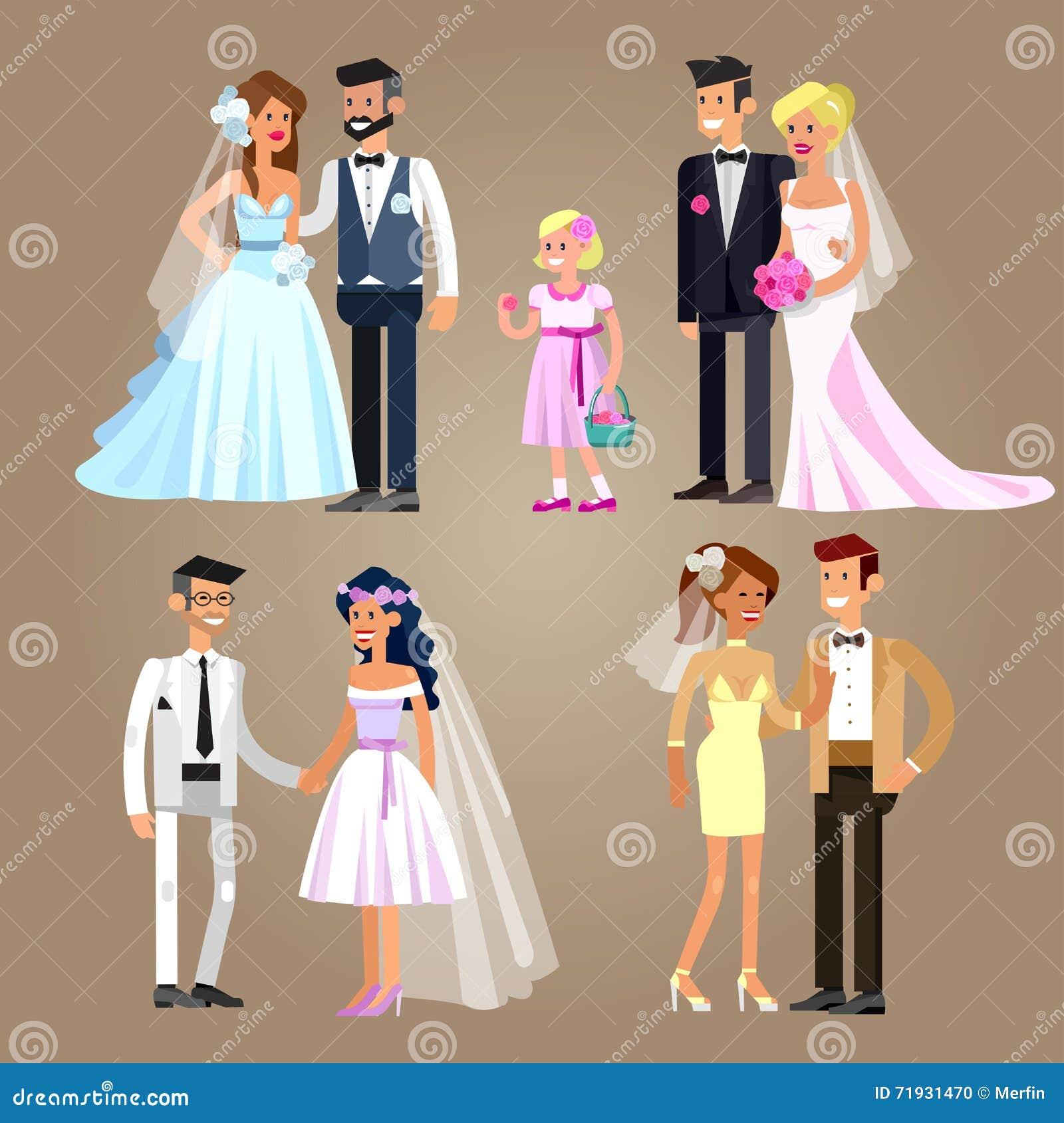 венчание пар счастливое